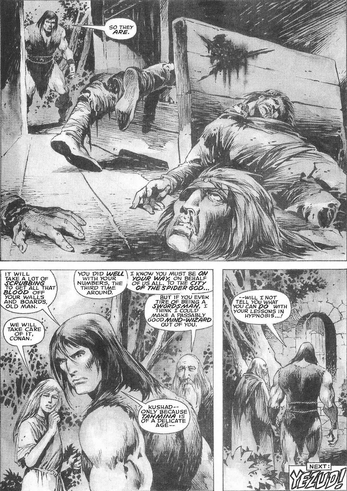 The Savage Sword Of Conan Issue #207 #208 - English 52