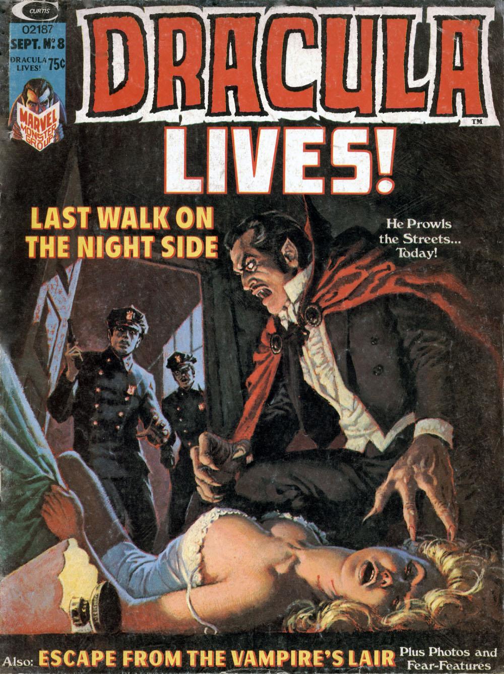 Dracula Lives 8 Page 1