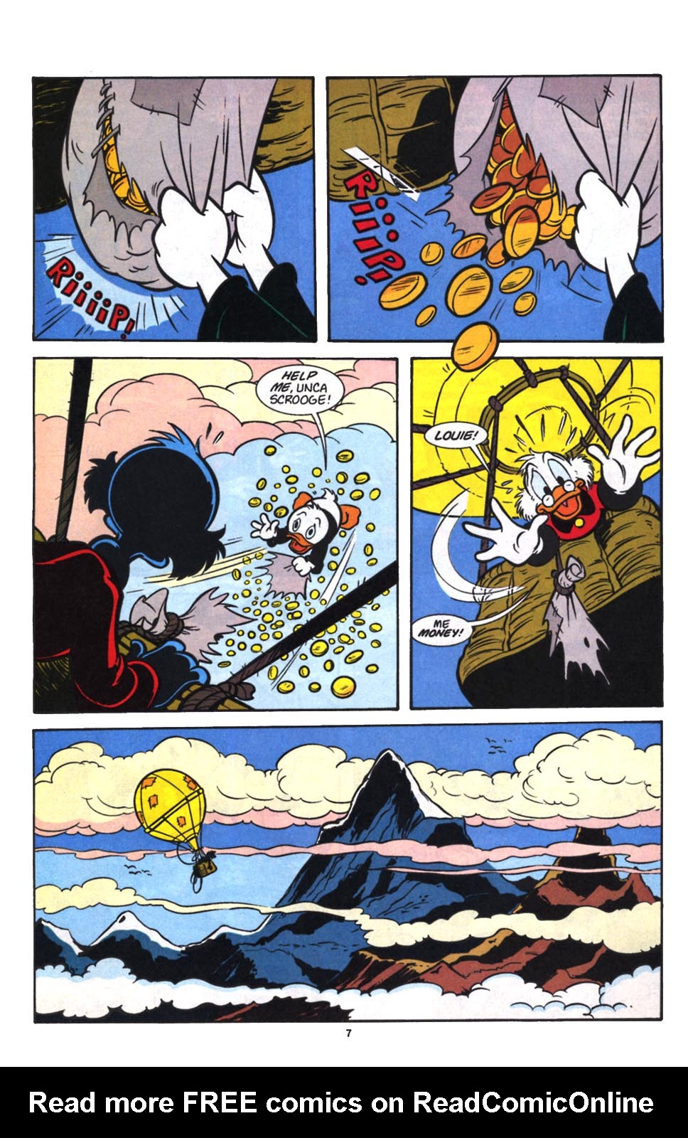 Uncle Scrooge (1953) Issue #257 #257 - English 9