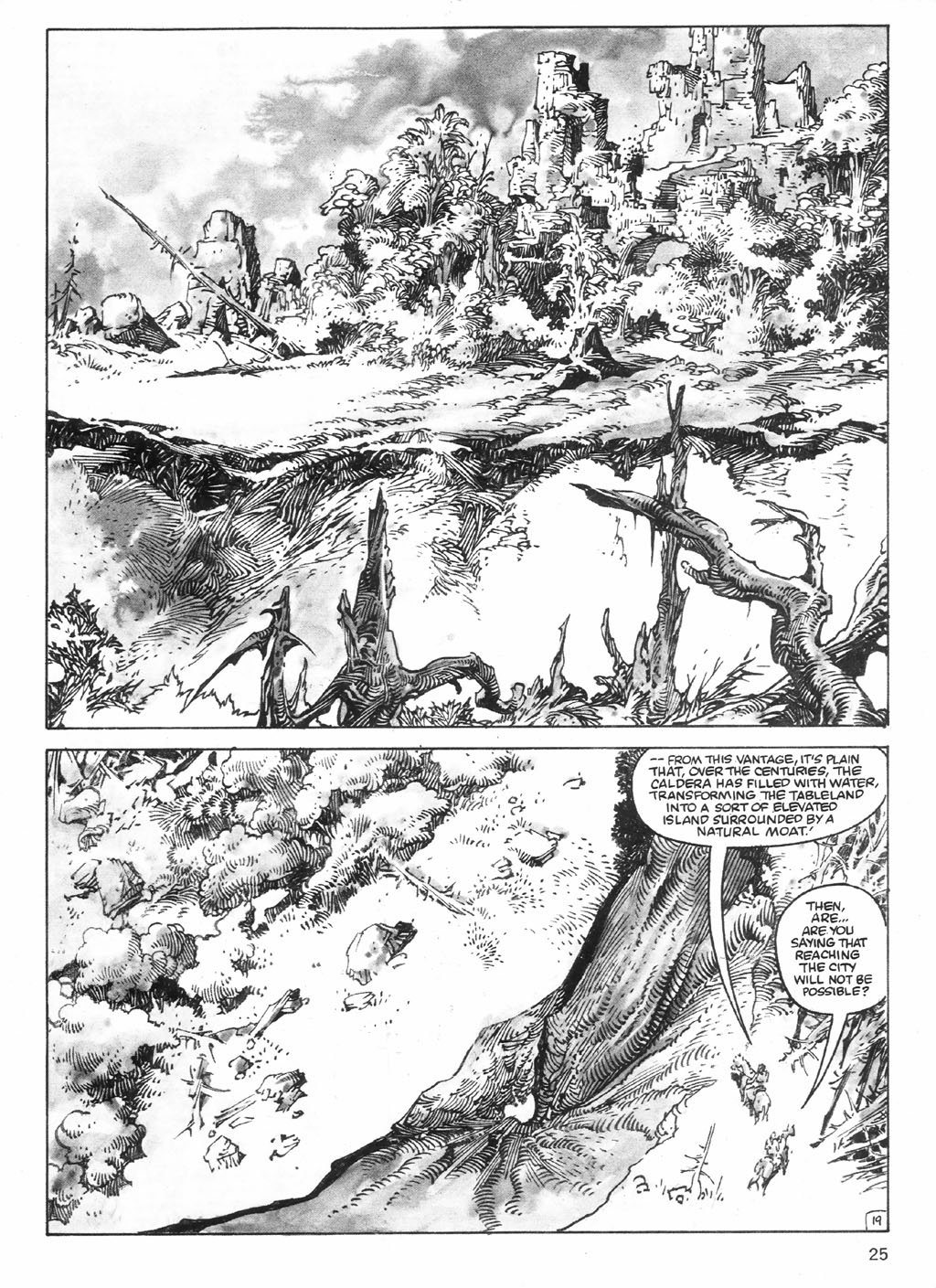 The Savage Sword Of Conan Issue #98 #99 - English 25