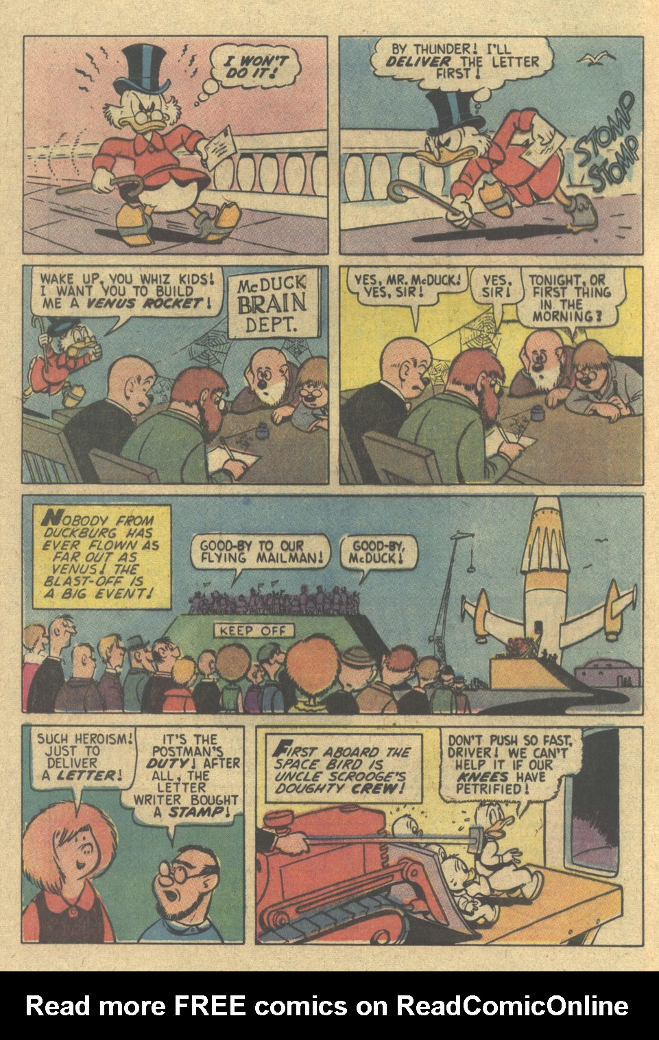 Uncle Scrooge (1953) Issue #154 #154 - English 8
