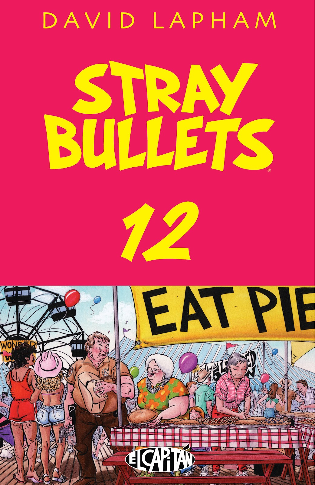 Stray Bullets Issue #12 #12 - English 1