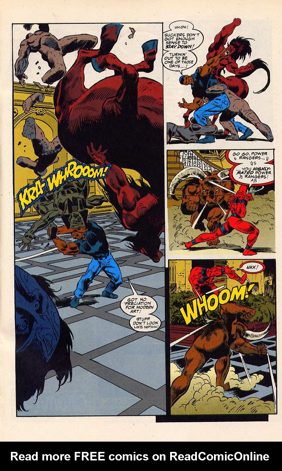 Read online Secret Defenders comic -  Issue #15 - 22