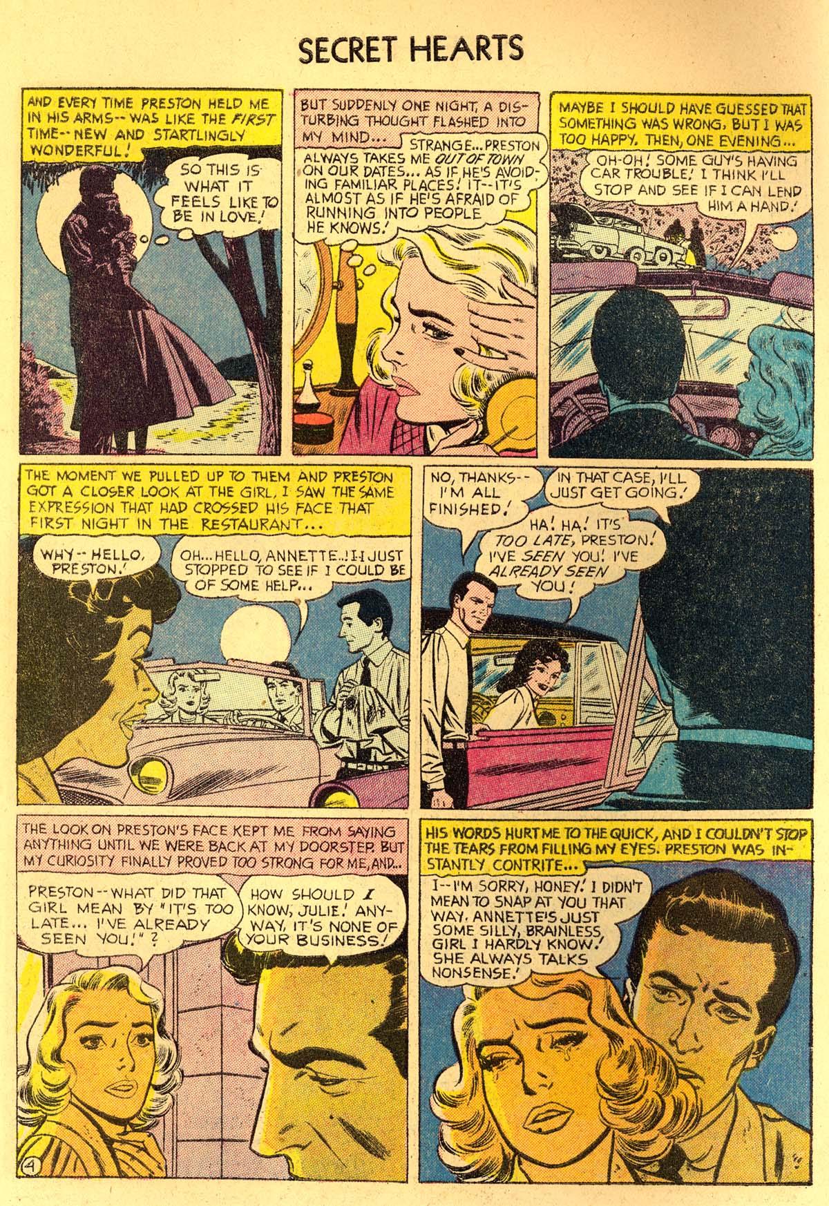 Read online Secret Hearts comic -  Issue #35 - 6