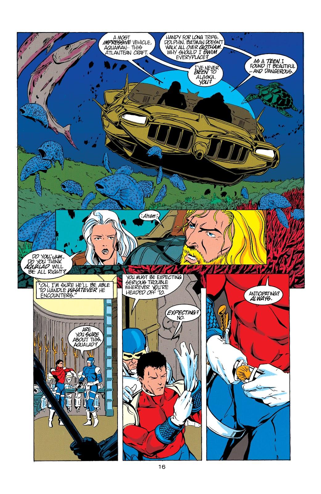 Aquaman (1994) Issue #5 #11 - English 17