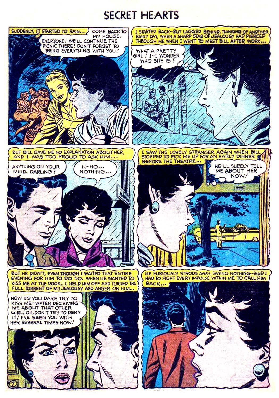 Read online Secret Hearts comic -  Issue #41 - 33