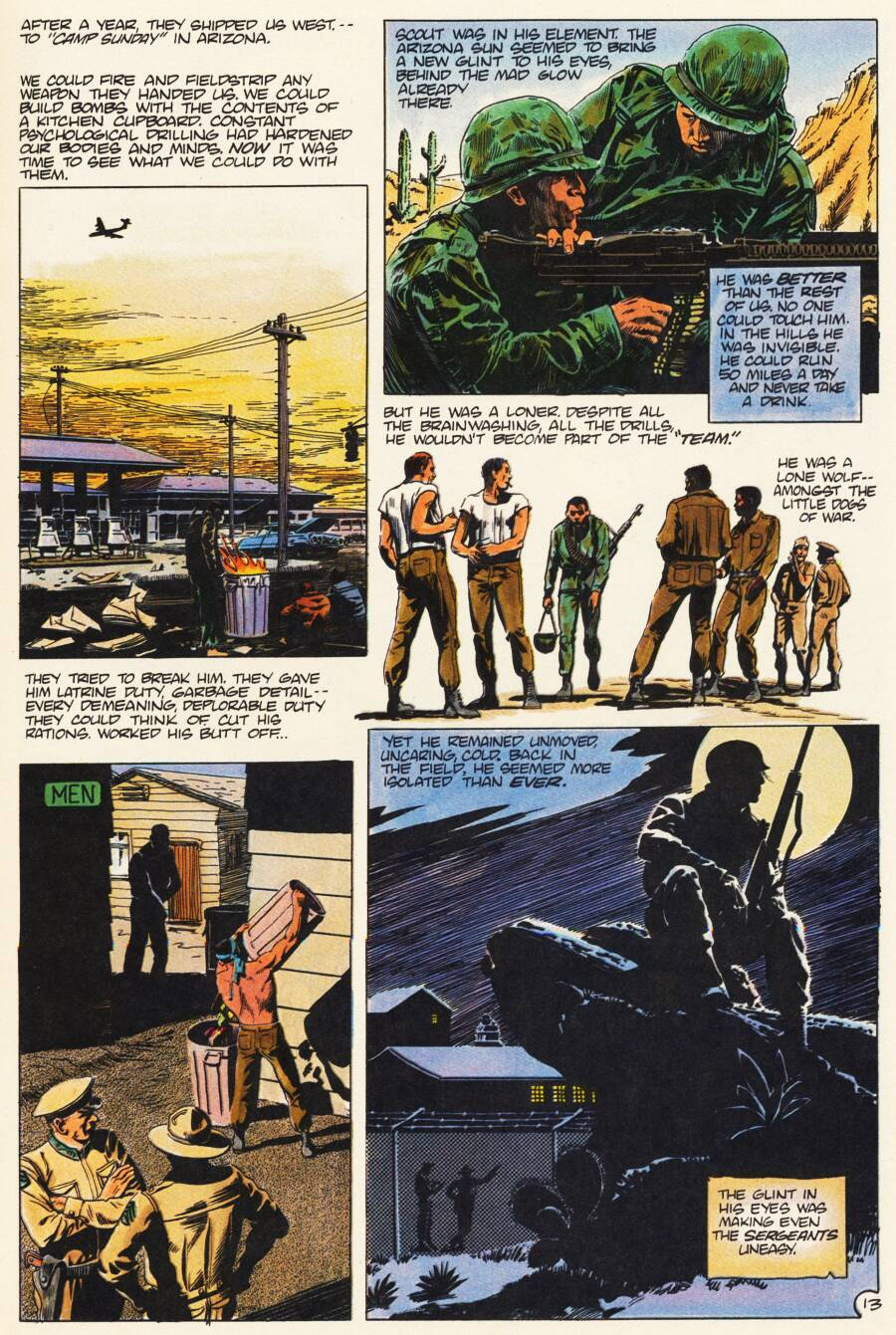 Read online Scout comic -  Issue #7 - 15