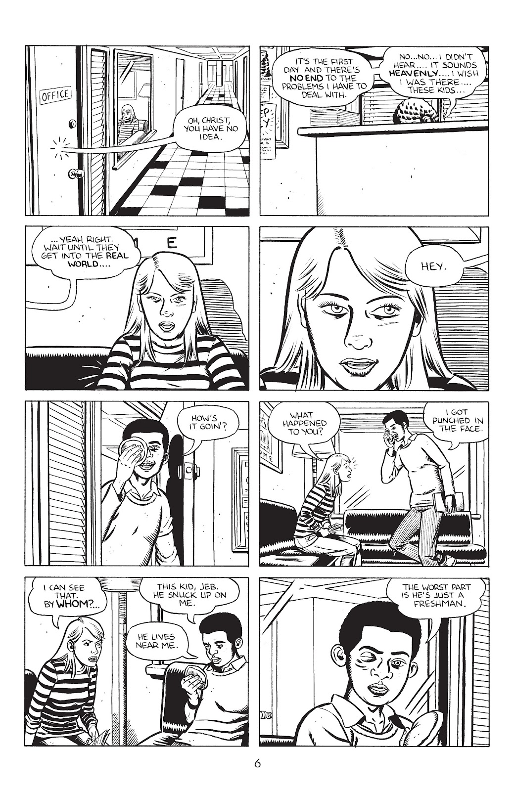 Stray Bullets Issue #31 #31 - English 8