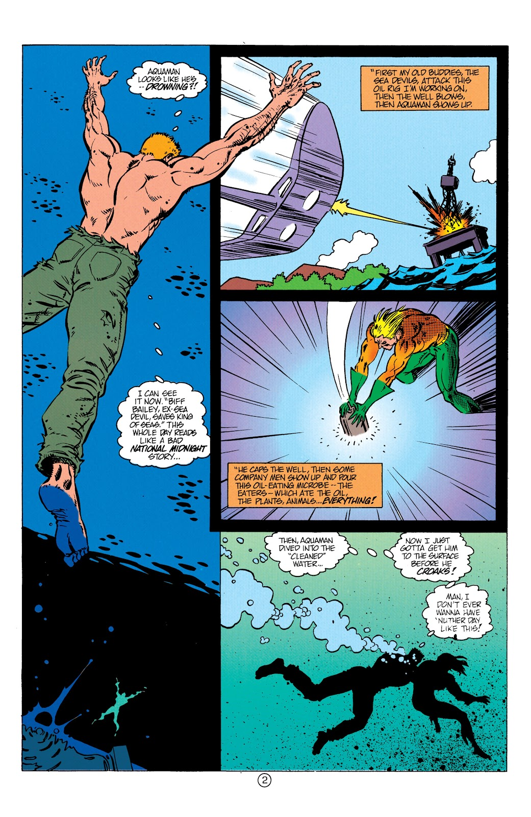 Aquaman (1991) Issue #10 #10 - English 3