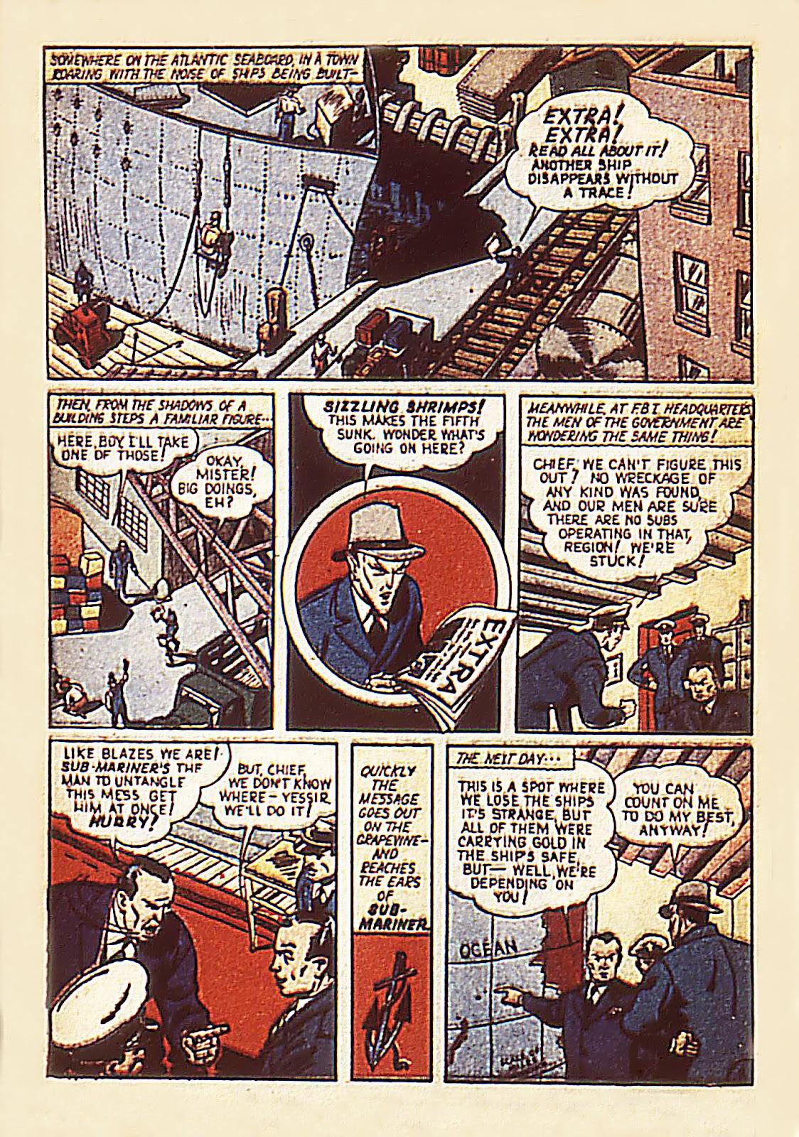 Sub-Mariner Comics Issue #7 #7 - English 4