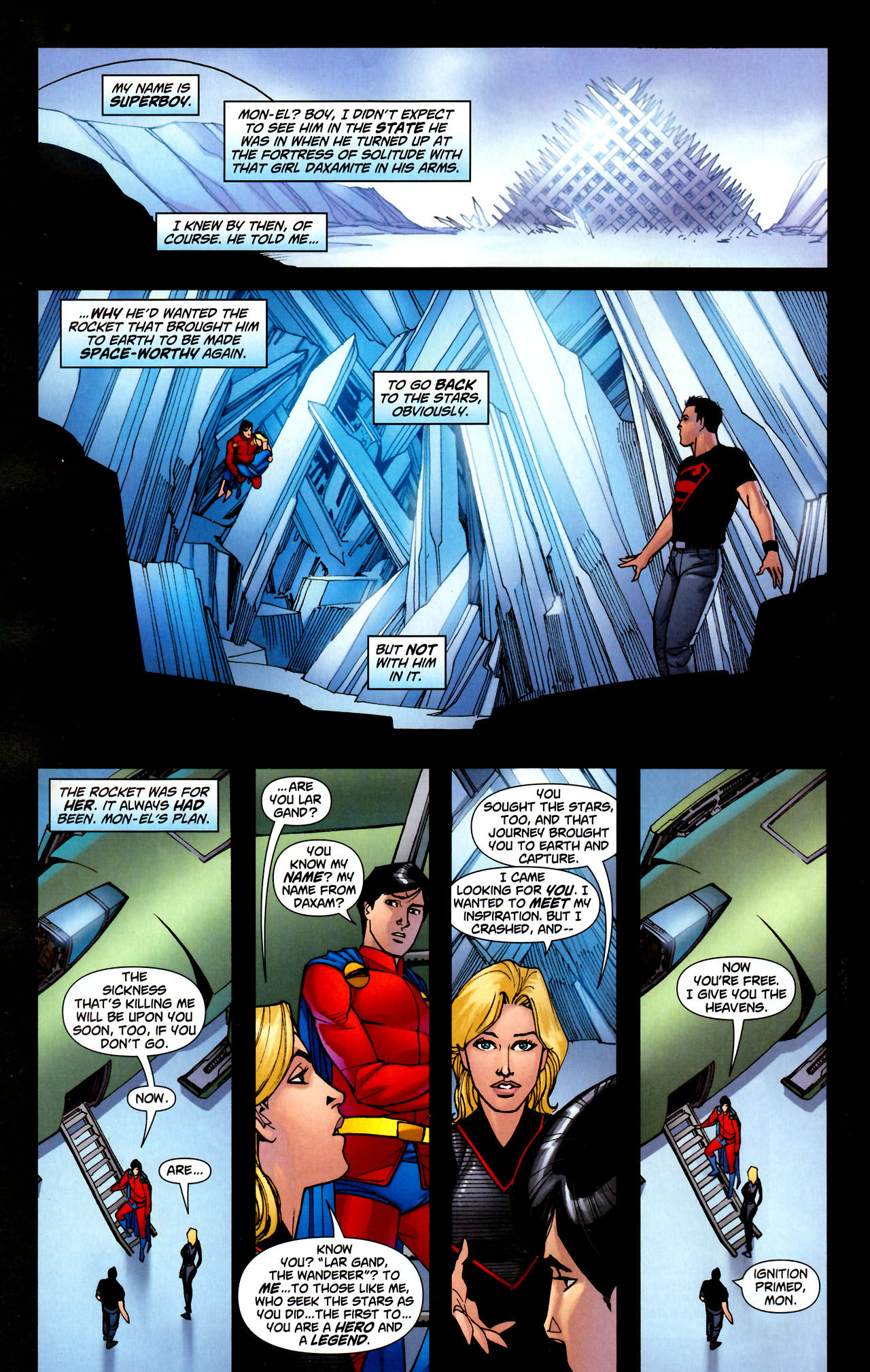 Read online Adventure Comics (2009) comic -  Issue #11 - 21
