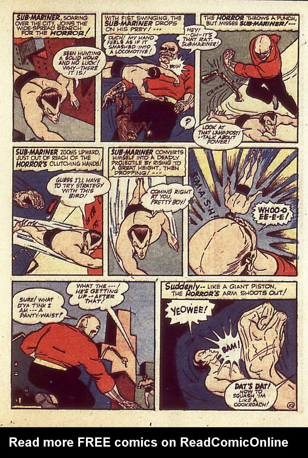 Sub-Mariner Comics Issue #4 #4 - English 34