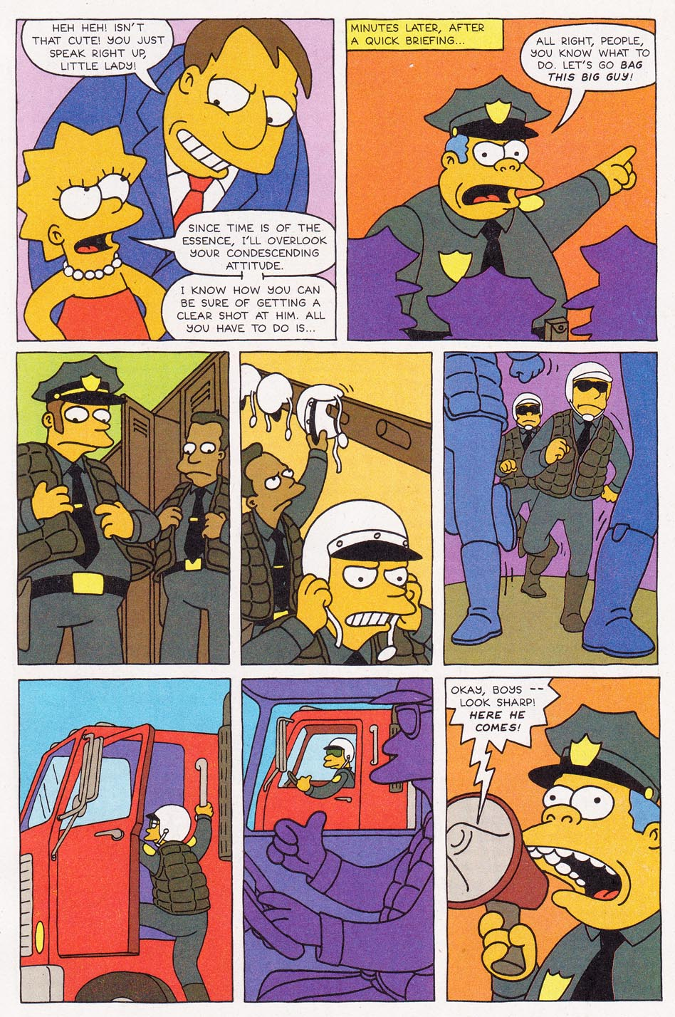 Read online Simpsons Comics comic -  Issue #1 - 21