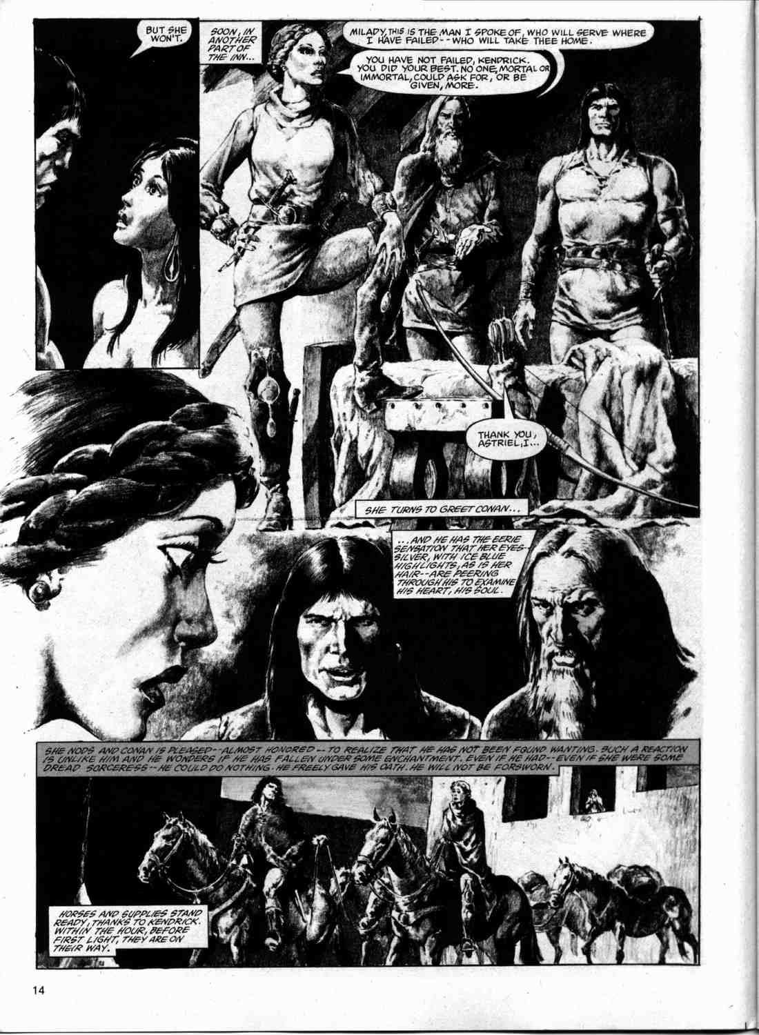 The Savage Sword Of Conan Issue #74 #75 - English 13