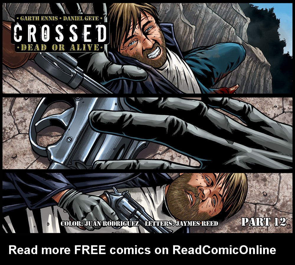 Crossed Dead or Alive issue 12 - Page 1