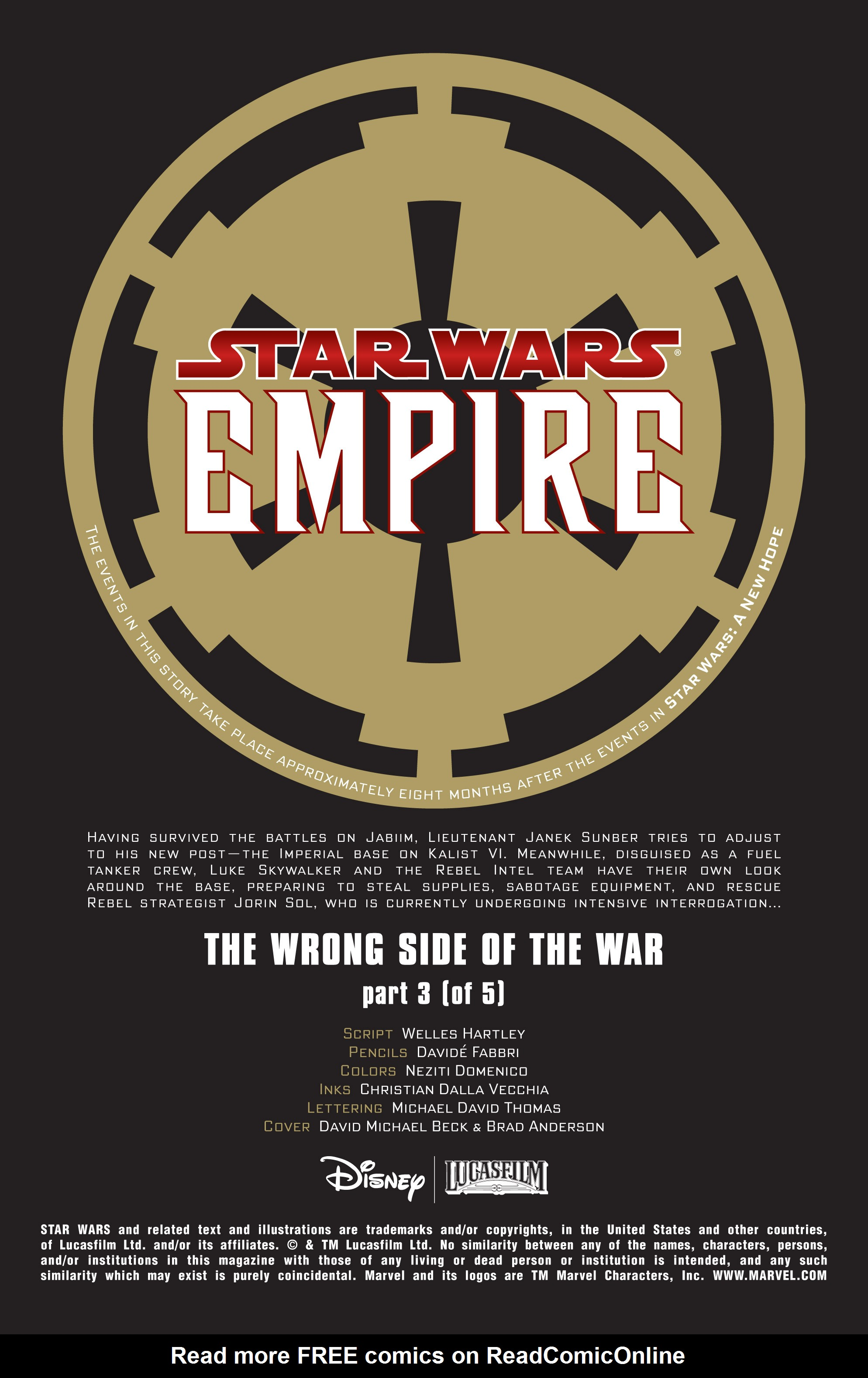 Read online Star Wars: Empire comic -  Issue #38 - 2