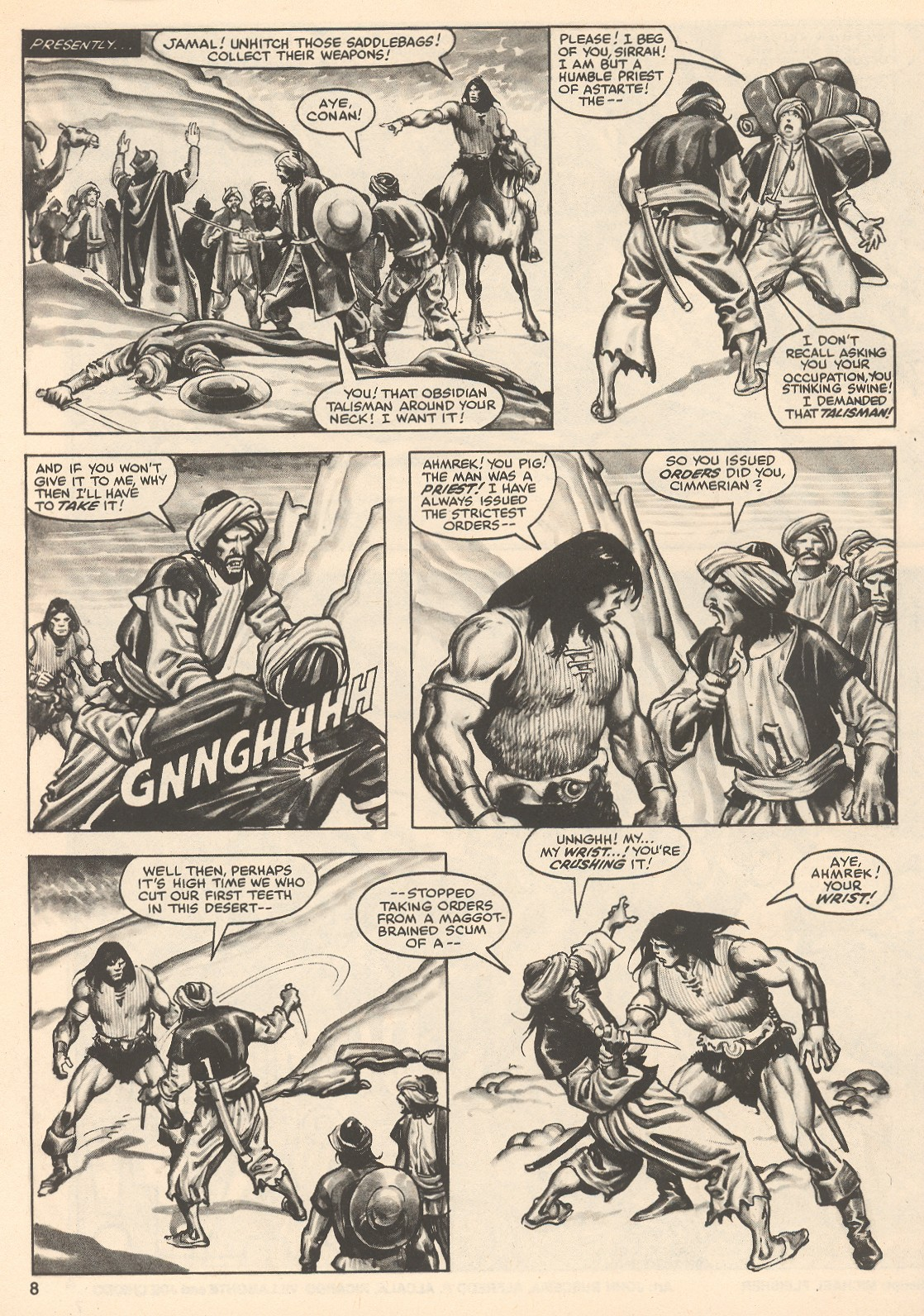 The Savage Sword Of Conan Issue #76 #77 - English 8