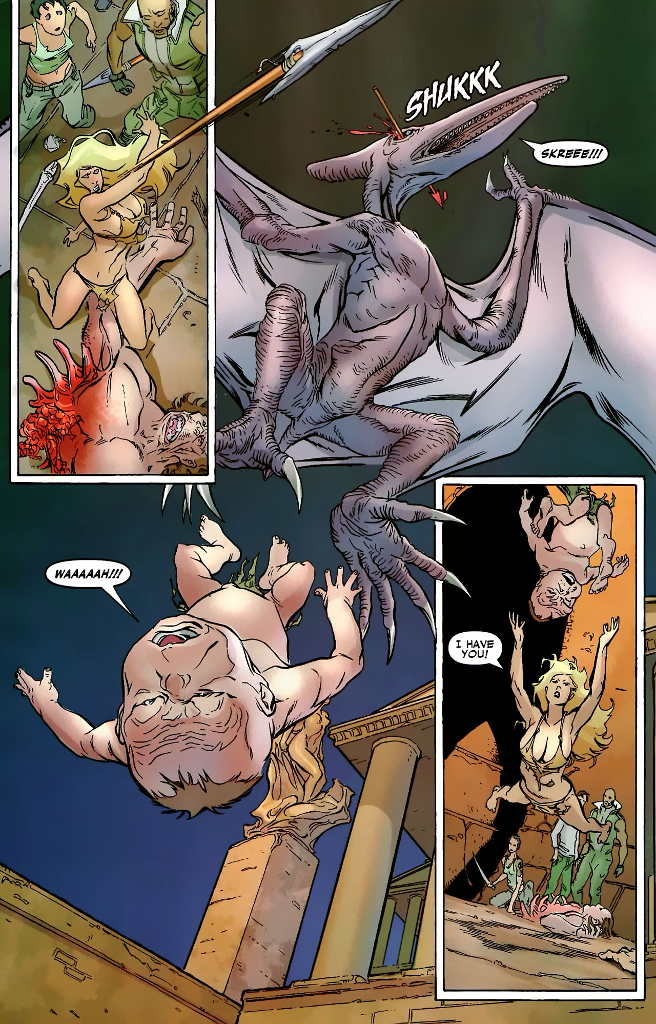 Read online Shanna the She-Devil: Survival of the Fittest comic -  Issue #3 - 12