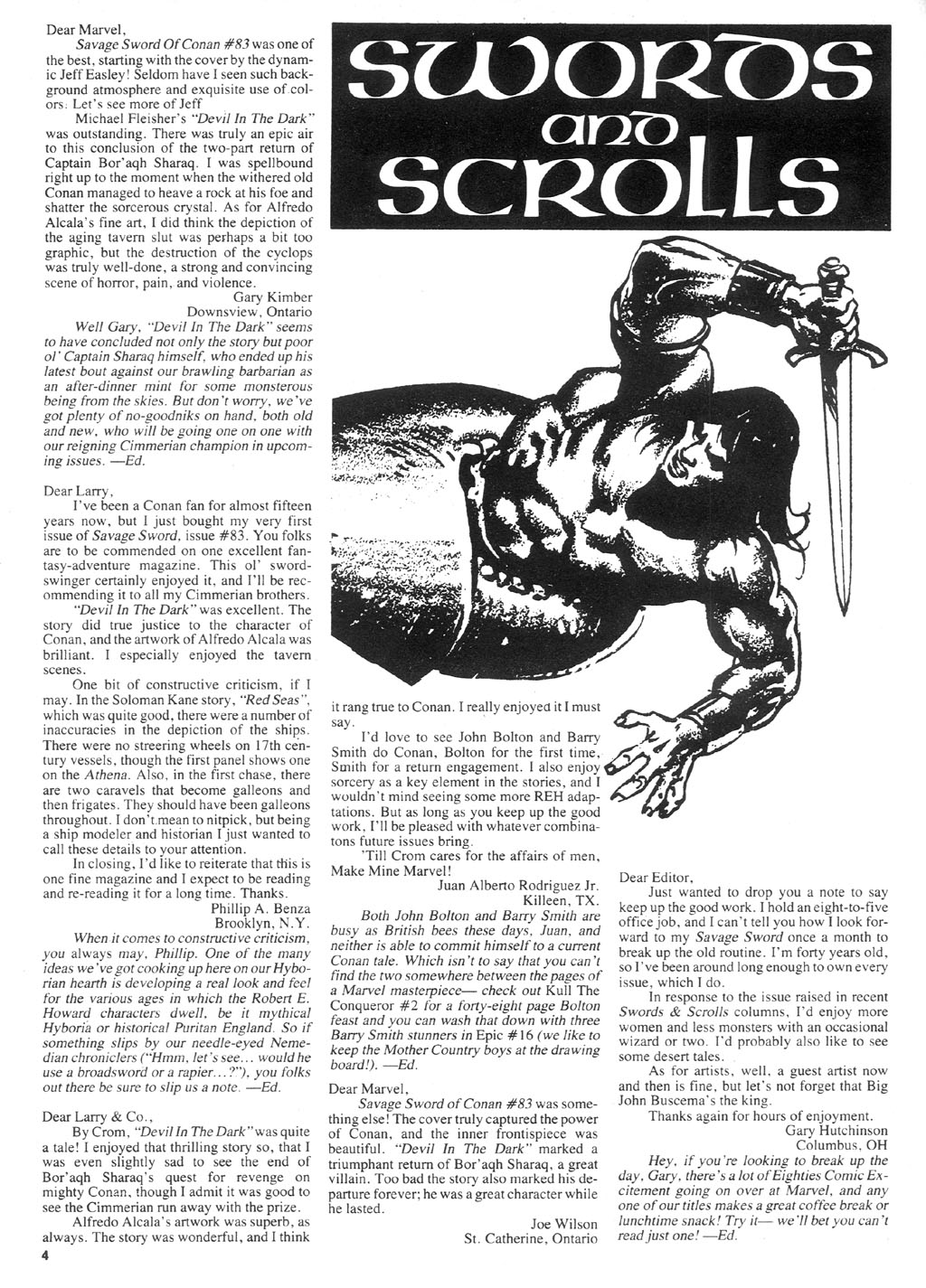 The Savage Sword Of Conan Issue #87 #88 - English 4