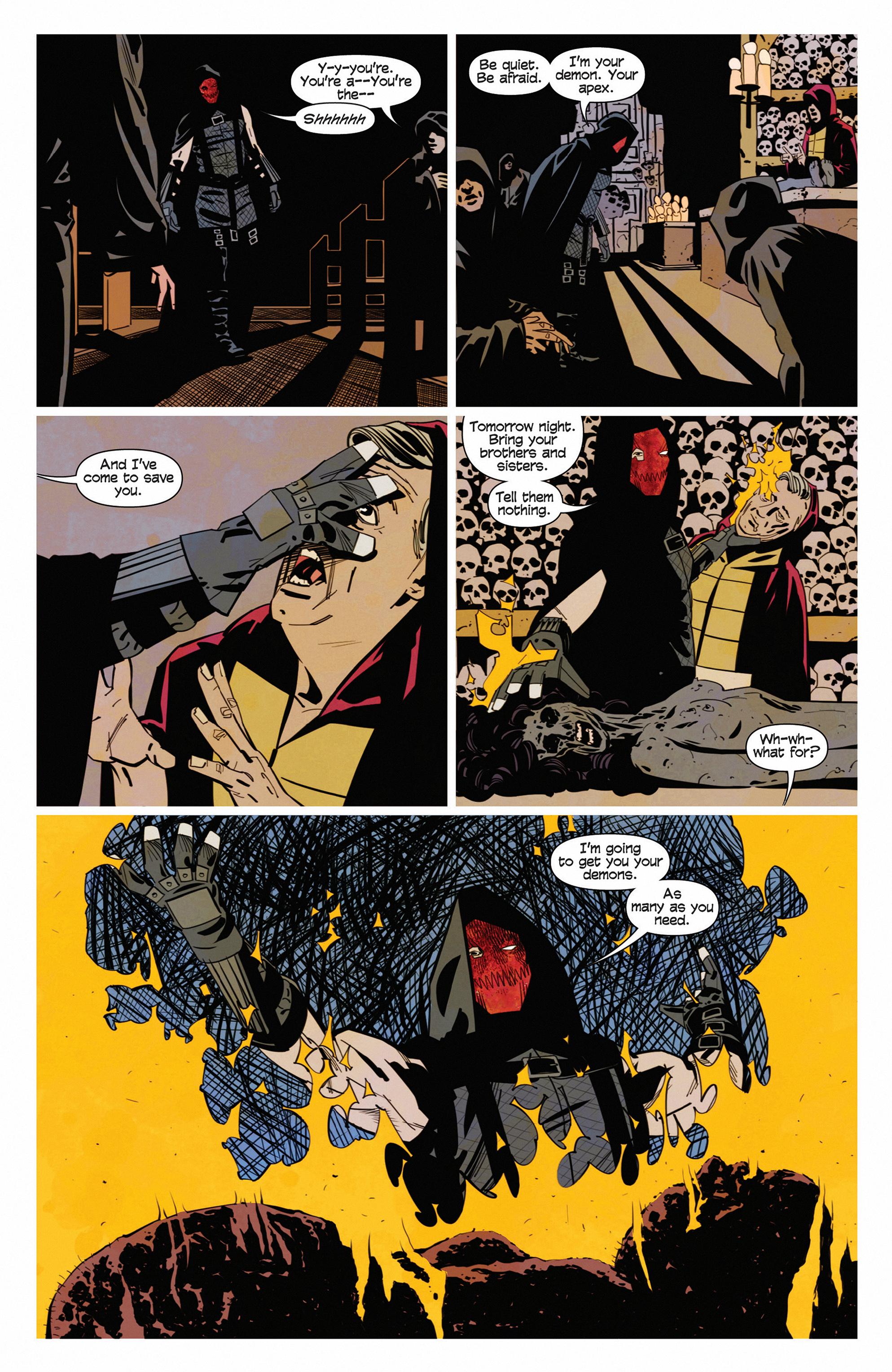 Read online Demonic comic -  Issue #5 - 22