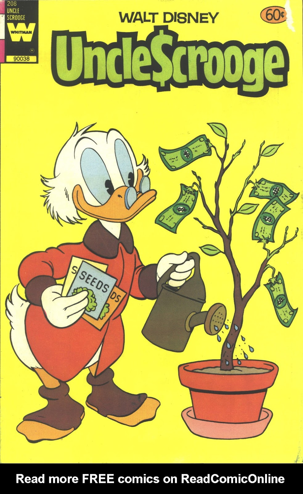 Uncle Scrooge (1953) Issue #208 #208 - English 1