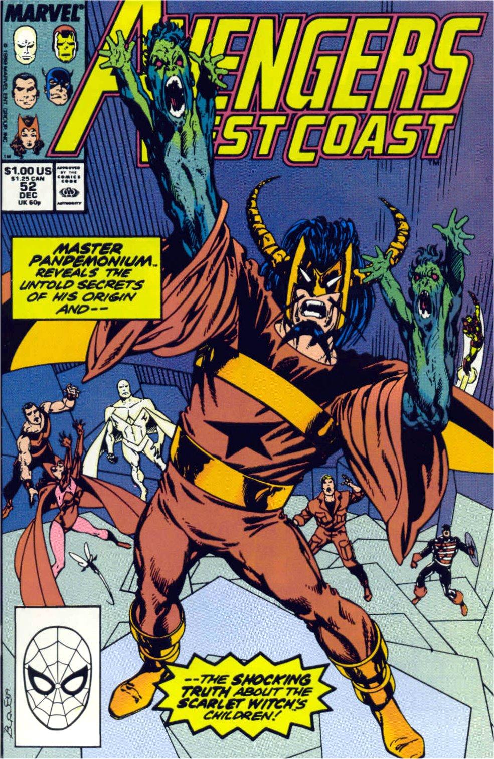 Avengers West Coast (1989) 52 Page 1