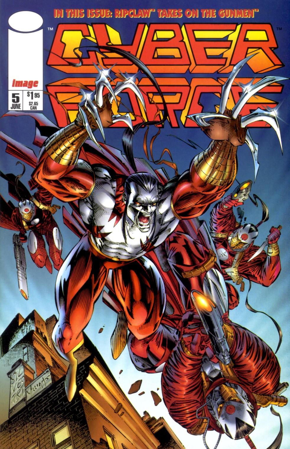 Cyberforce (1993) 5 Page 1
