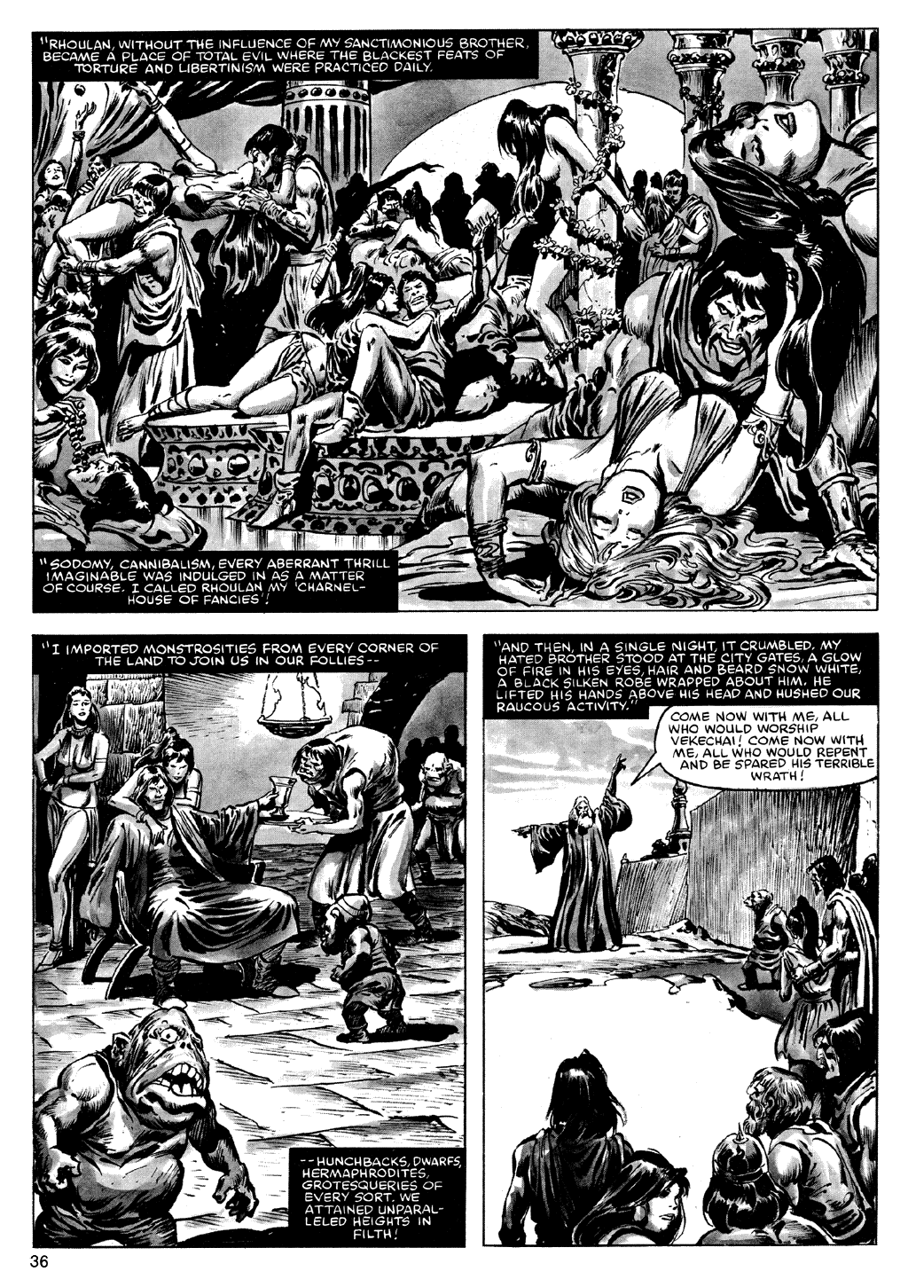 The Savage Sword Of Conan Issue #72 #73 - English 36