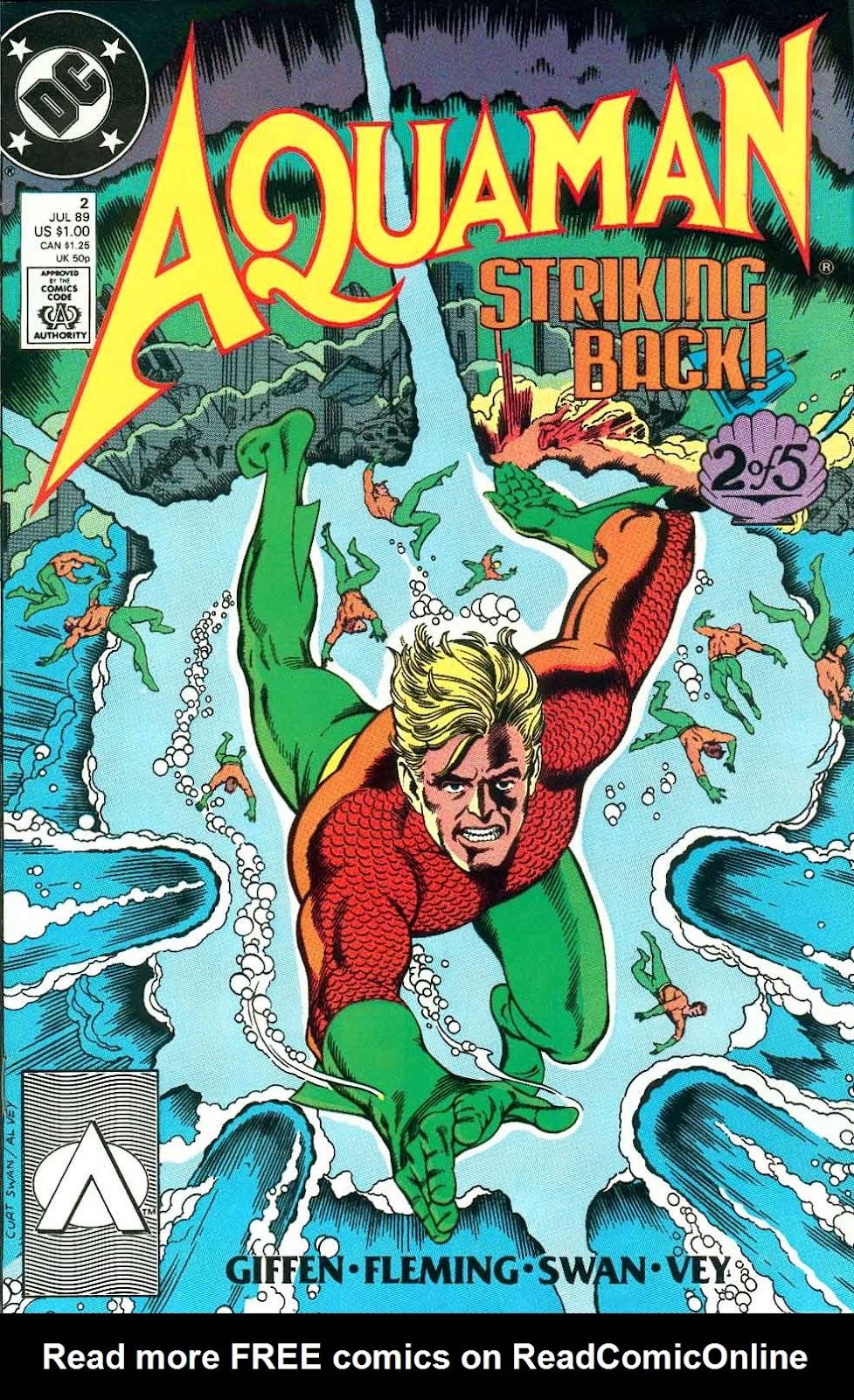 Aquaman (1989) Issue #2 #2 - English 1
