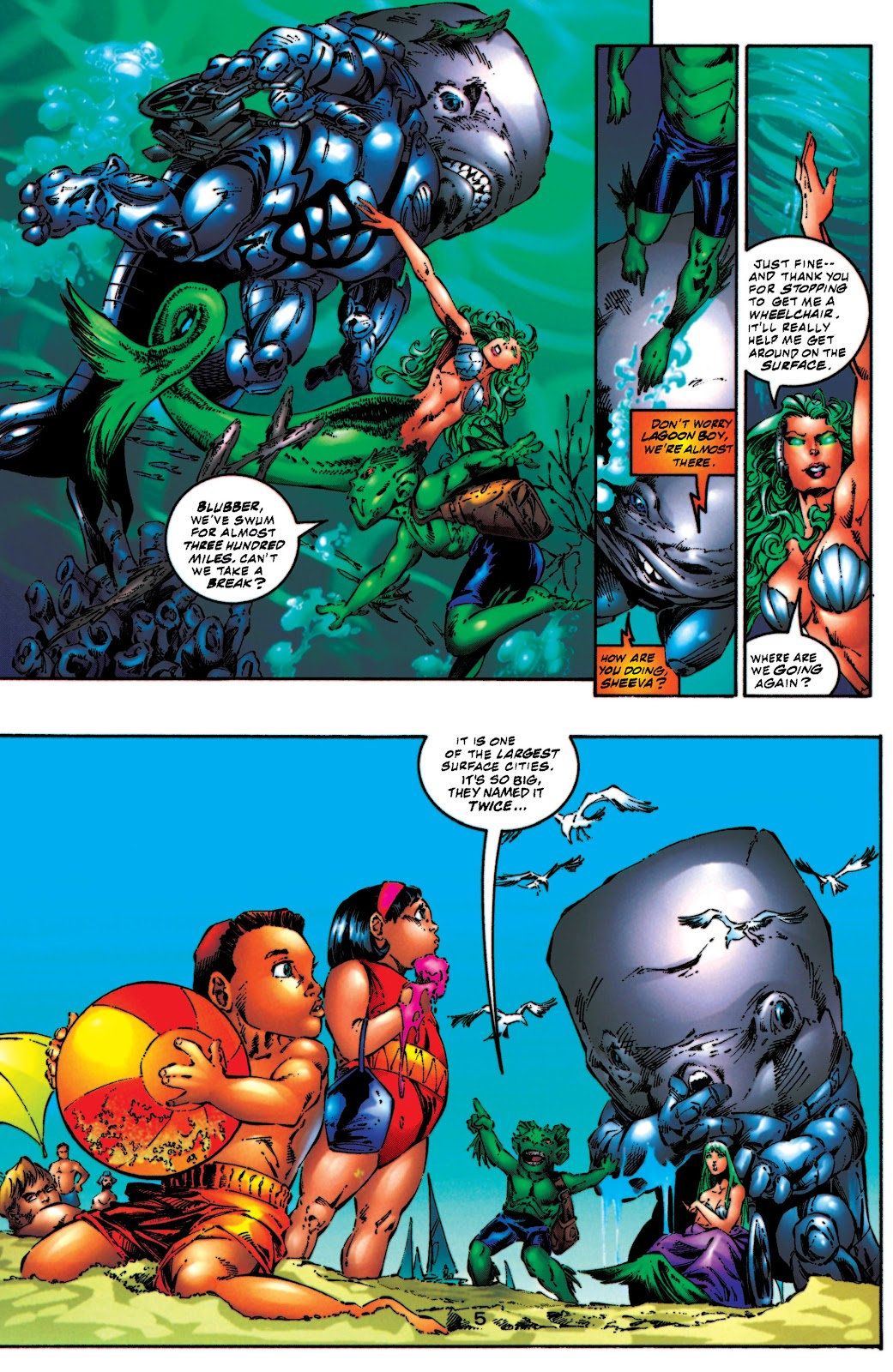 Aquaman (1994) Issue #54 #60 - English 6