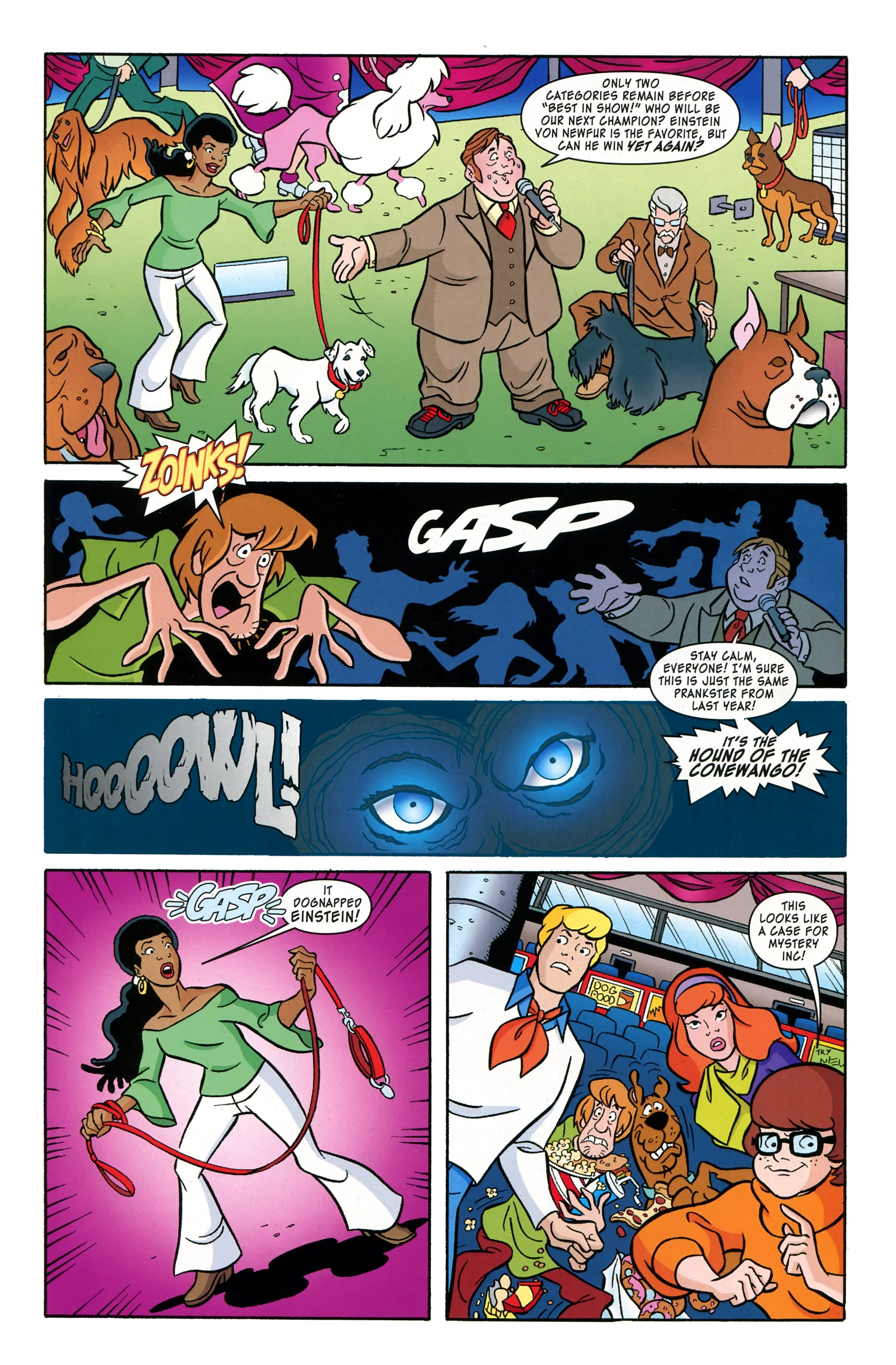 Read online Scooby-Doo: Where Are You? comic -  Issue #39 - 5