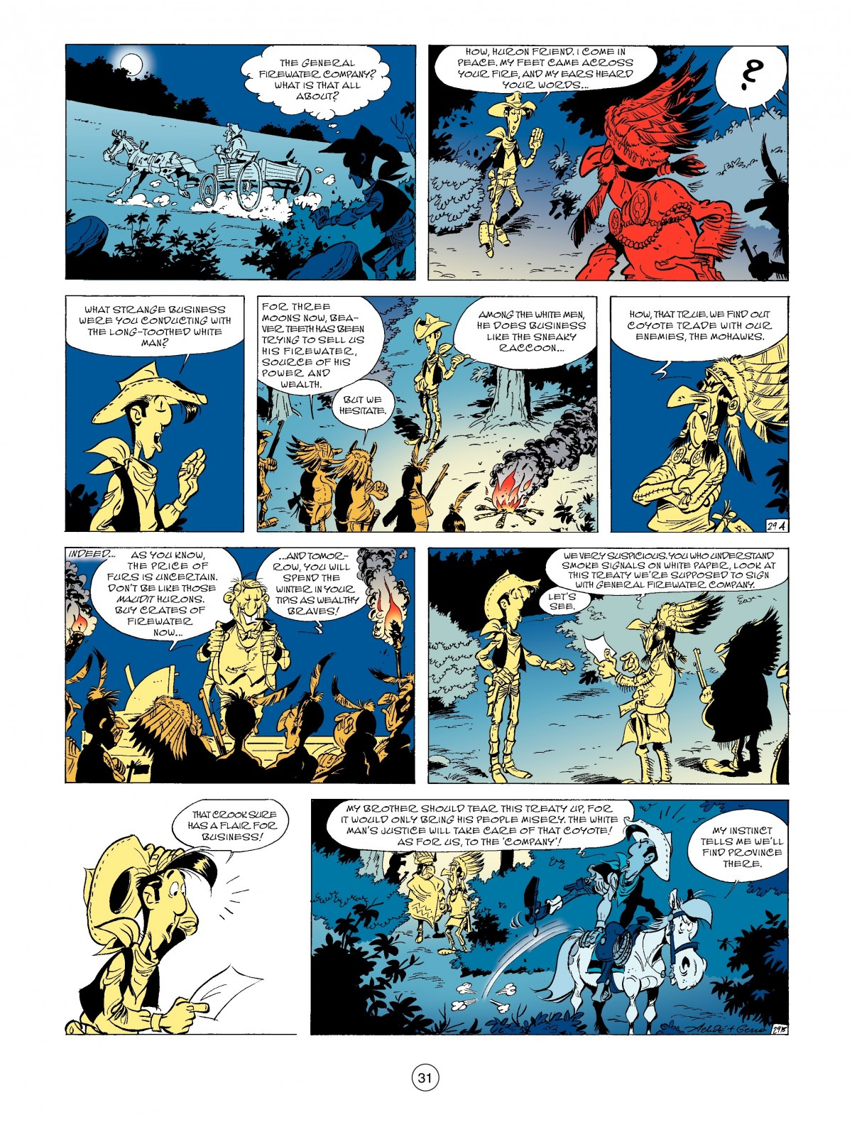A Lucky Luke Adventure 52 Page 32