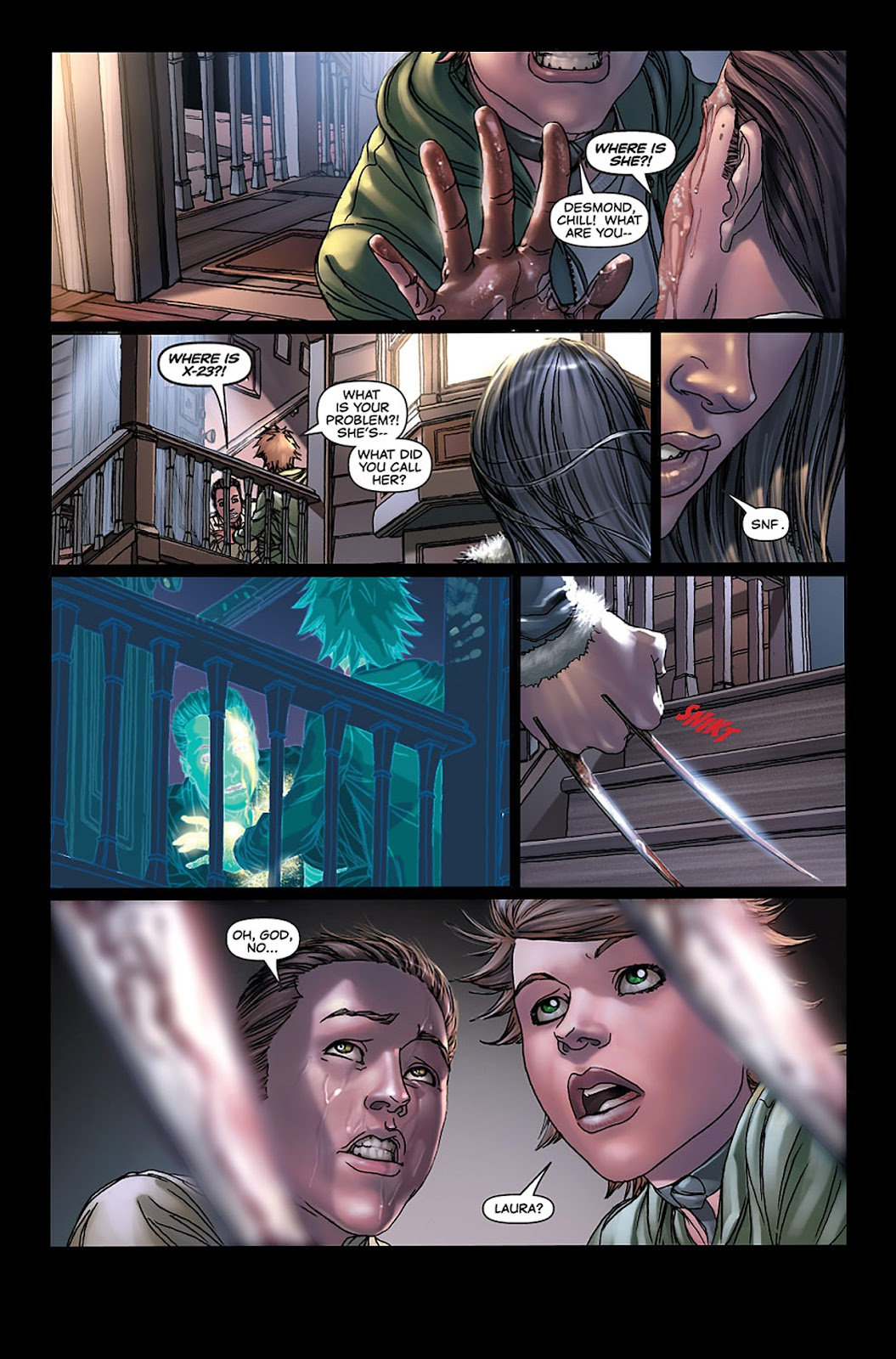 X-23: Target X Issue #3 #3 - English 22