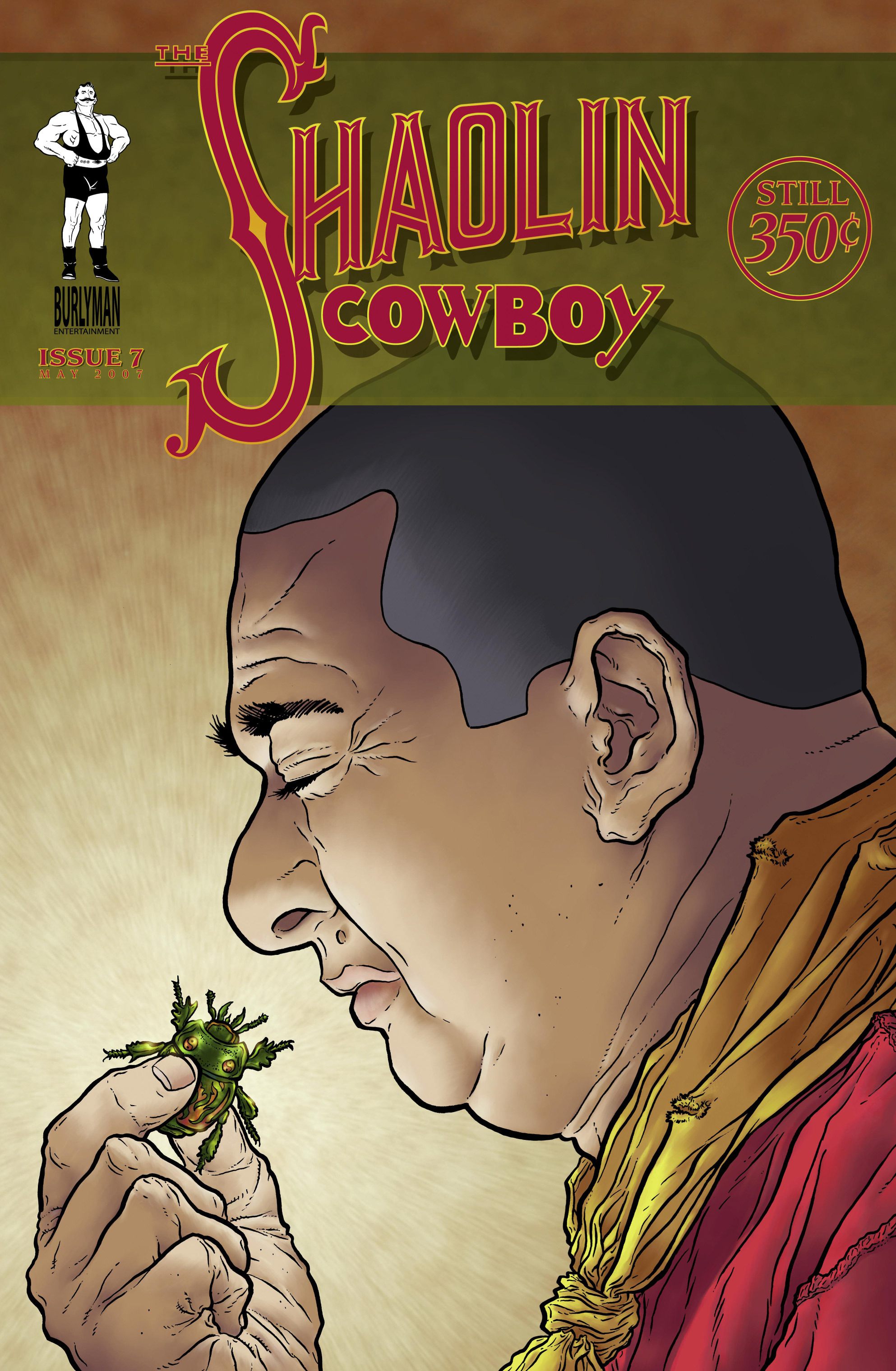 The Shaolin Cowboy issue 7 - Page 1