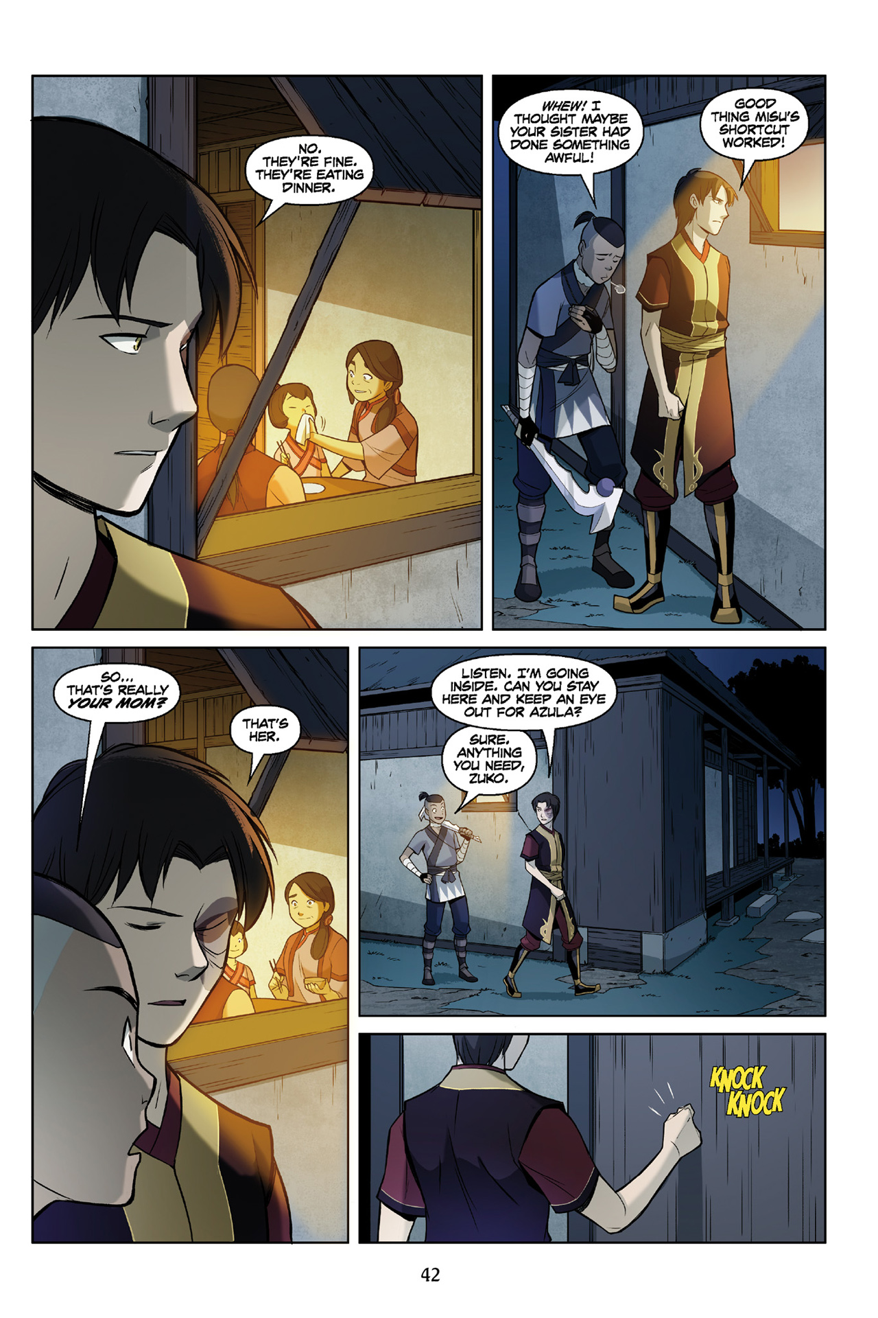 Read online Nickelodeon Avatar: The Last Airbender - The Search comic -  Issue # Part 3 - 43