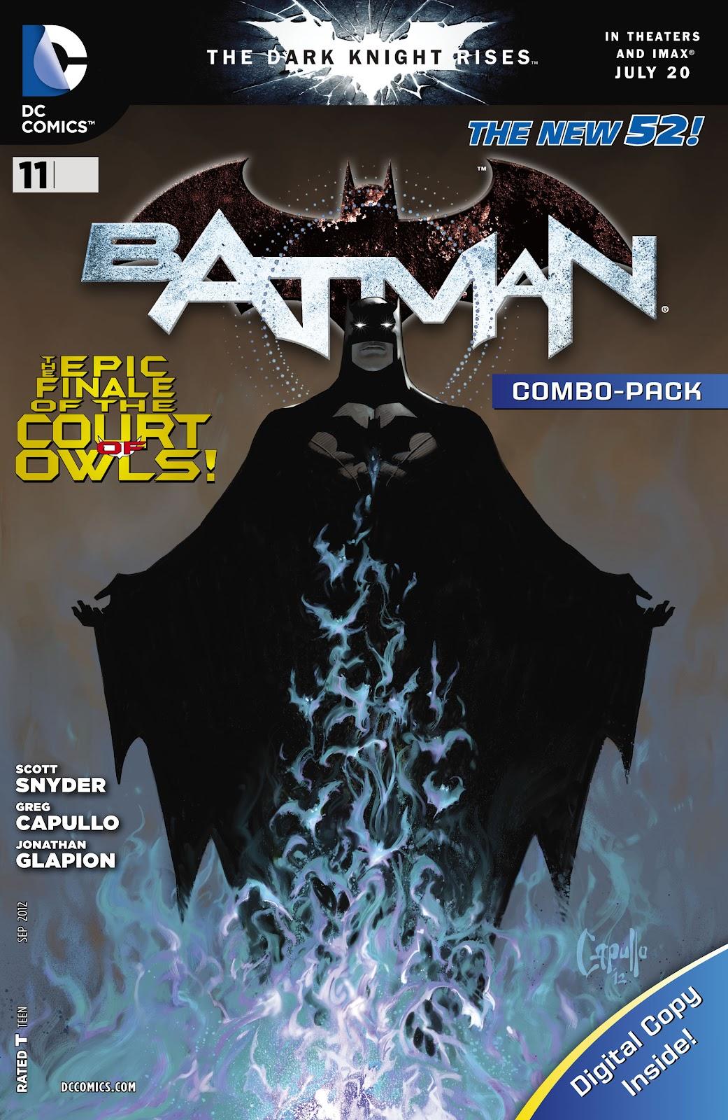Batman (2011) Issue #11 #26 - English 35