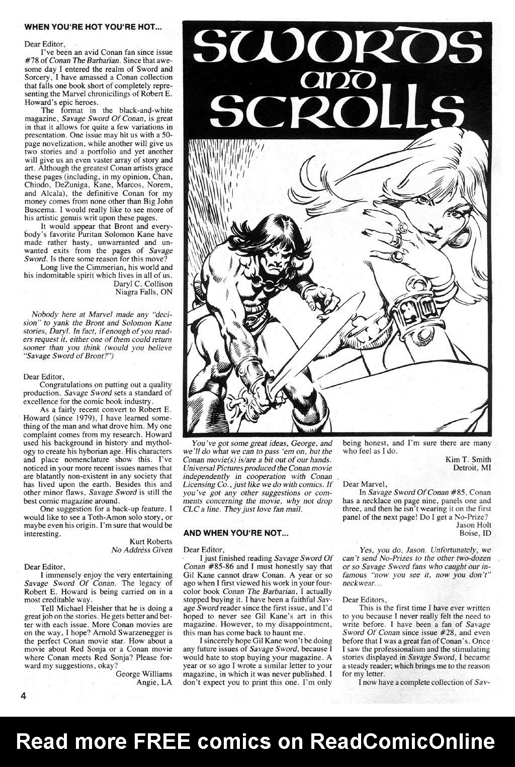 The Savage Sword Of Conan Issue #89 #90 - English 4
