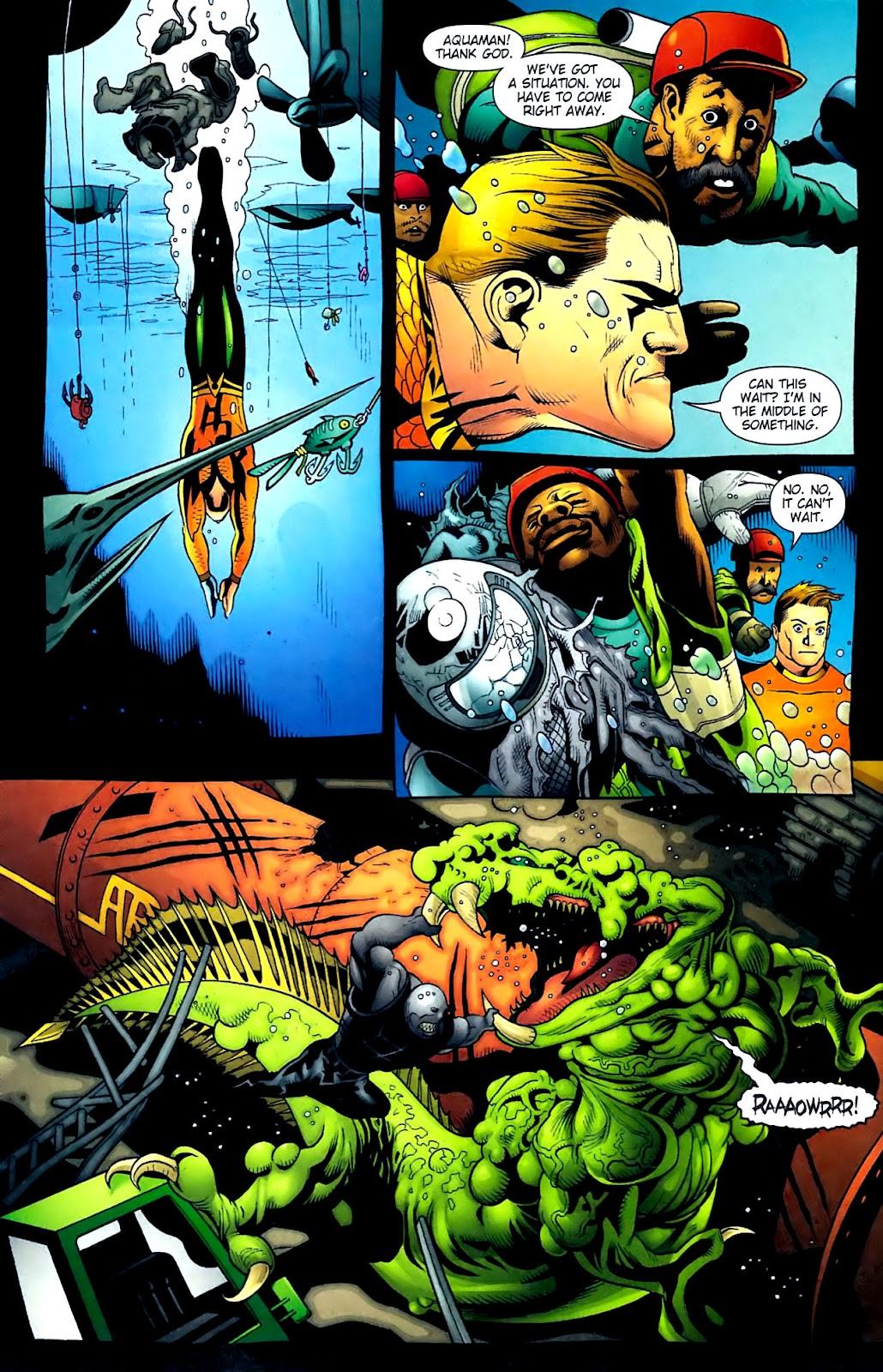 Aquaman (2003) Issue #32 #32 - English 10