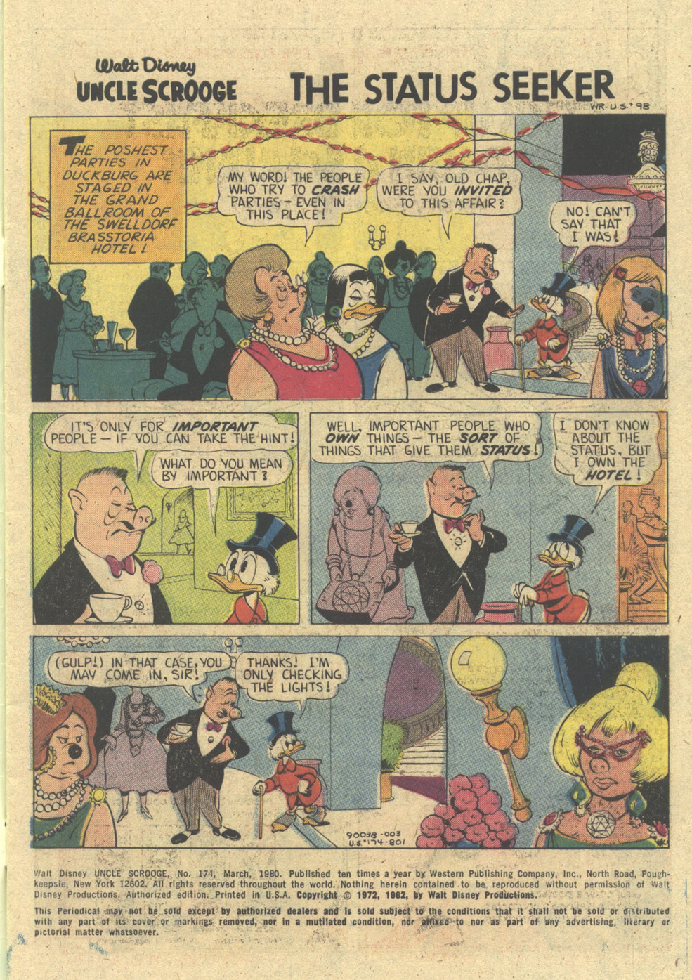 Uncle Scrooge (1953) Issue #174 #174 - English 3