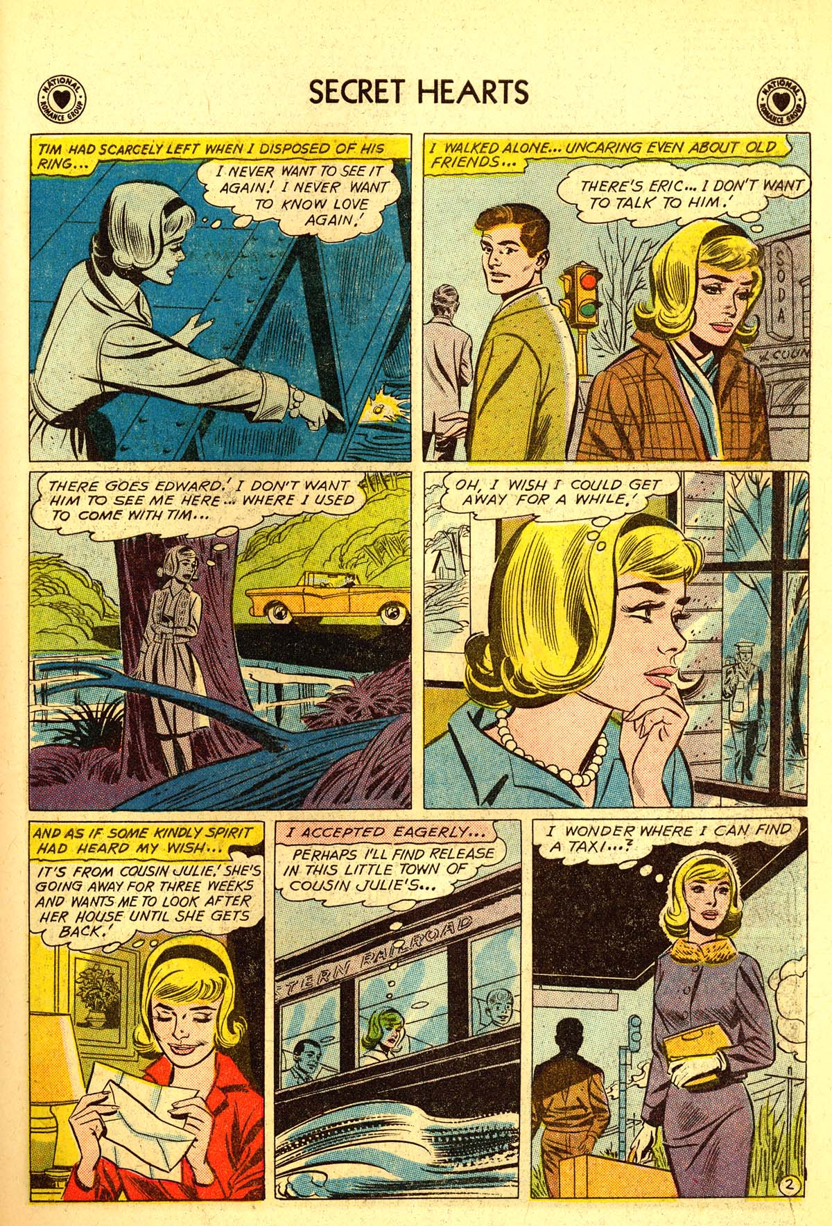 Read online Secret Hearts comic -  Issue #64 - 19