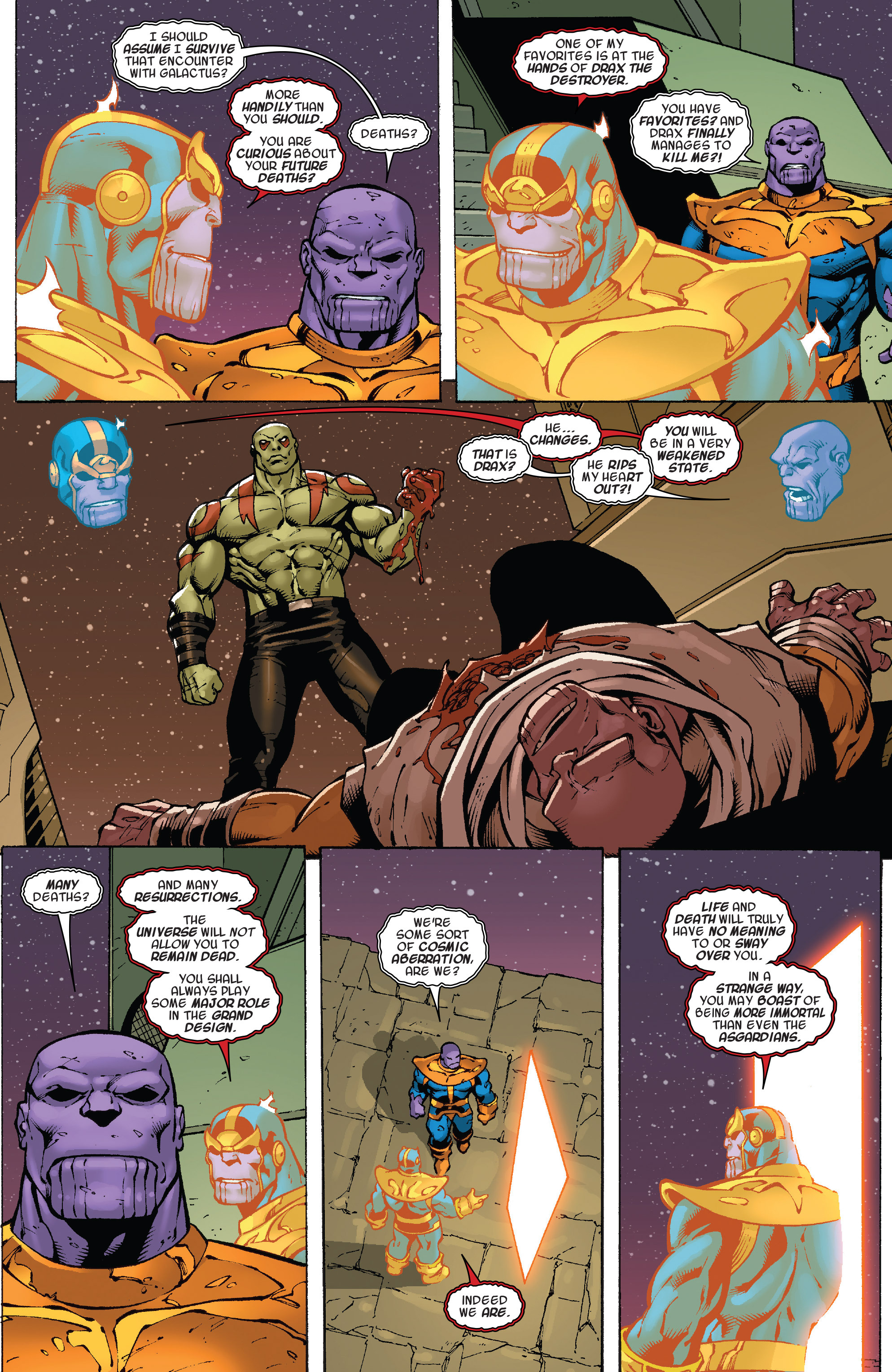 Read online Thanos Annual comic -  Issue # Annual - 24