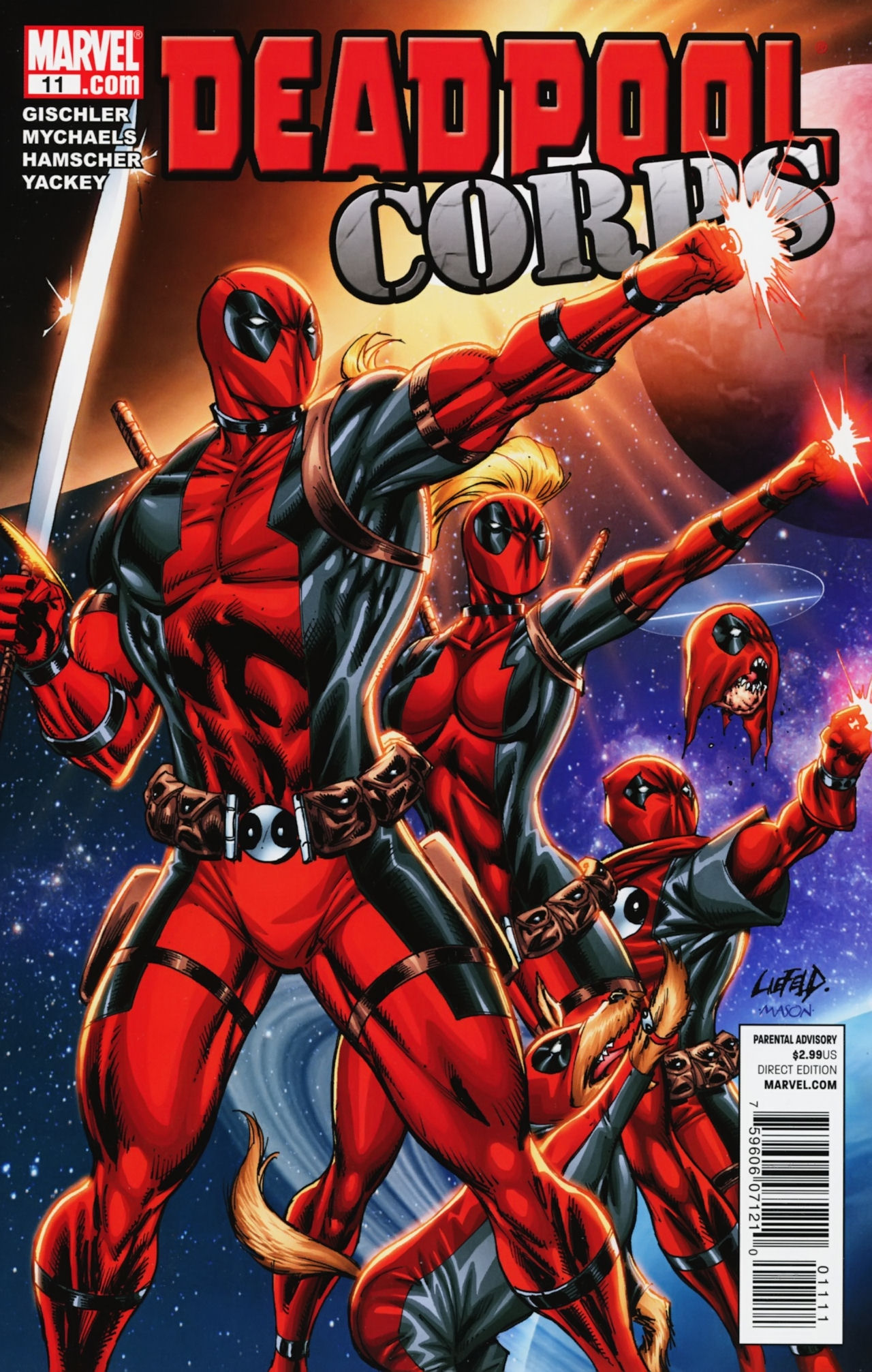 Deadpool Corps (2010) 11 Page 1
