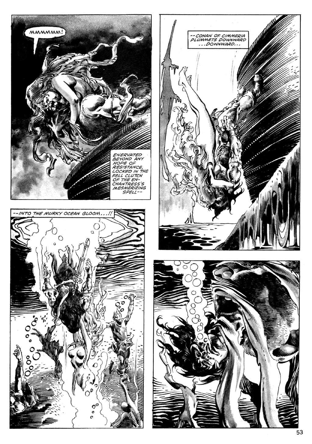 The Savage Sword Of Conan Issue #101 #102 - English 53