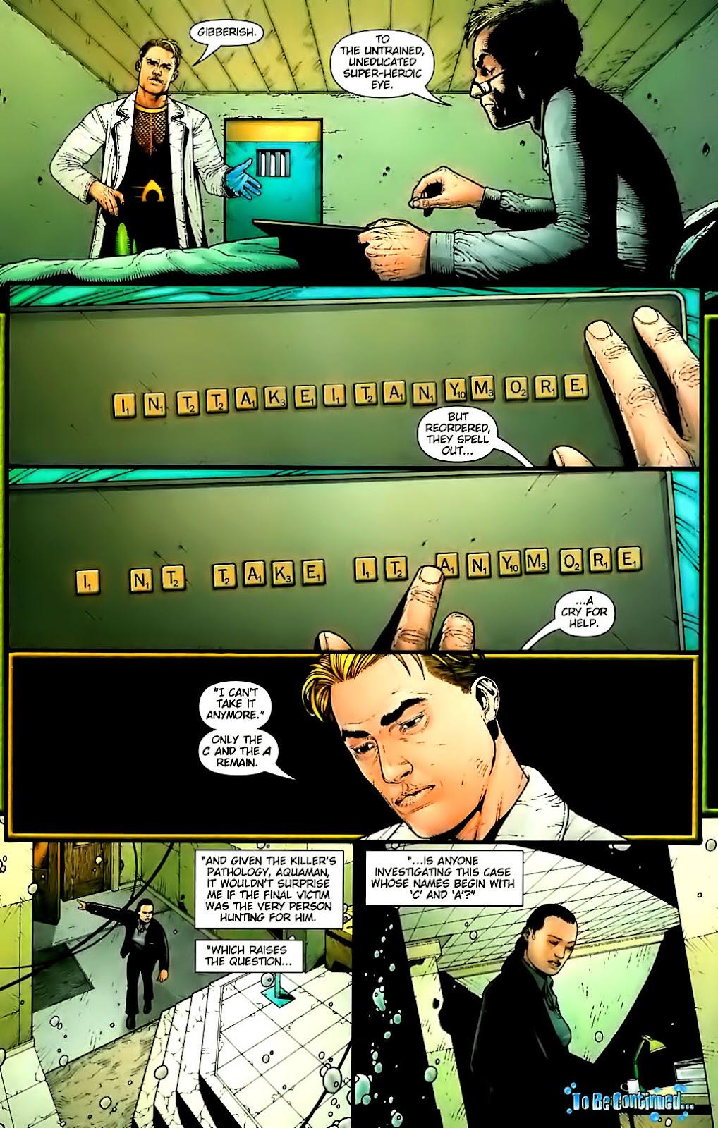 Aquaman (2003) Issue #30 #30 - English 23