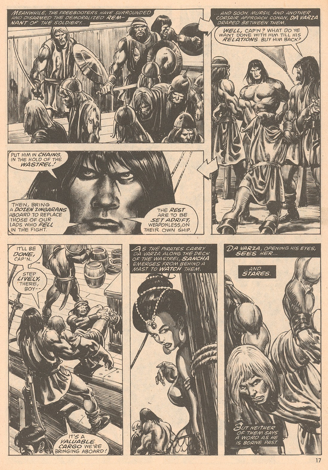 The Savage Sword Of Conan Issue #67 #68 - English 17