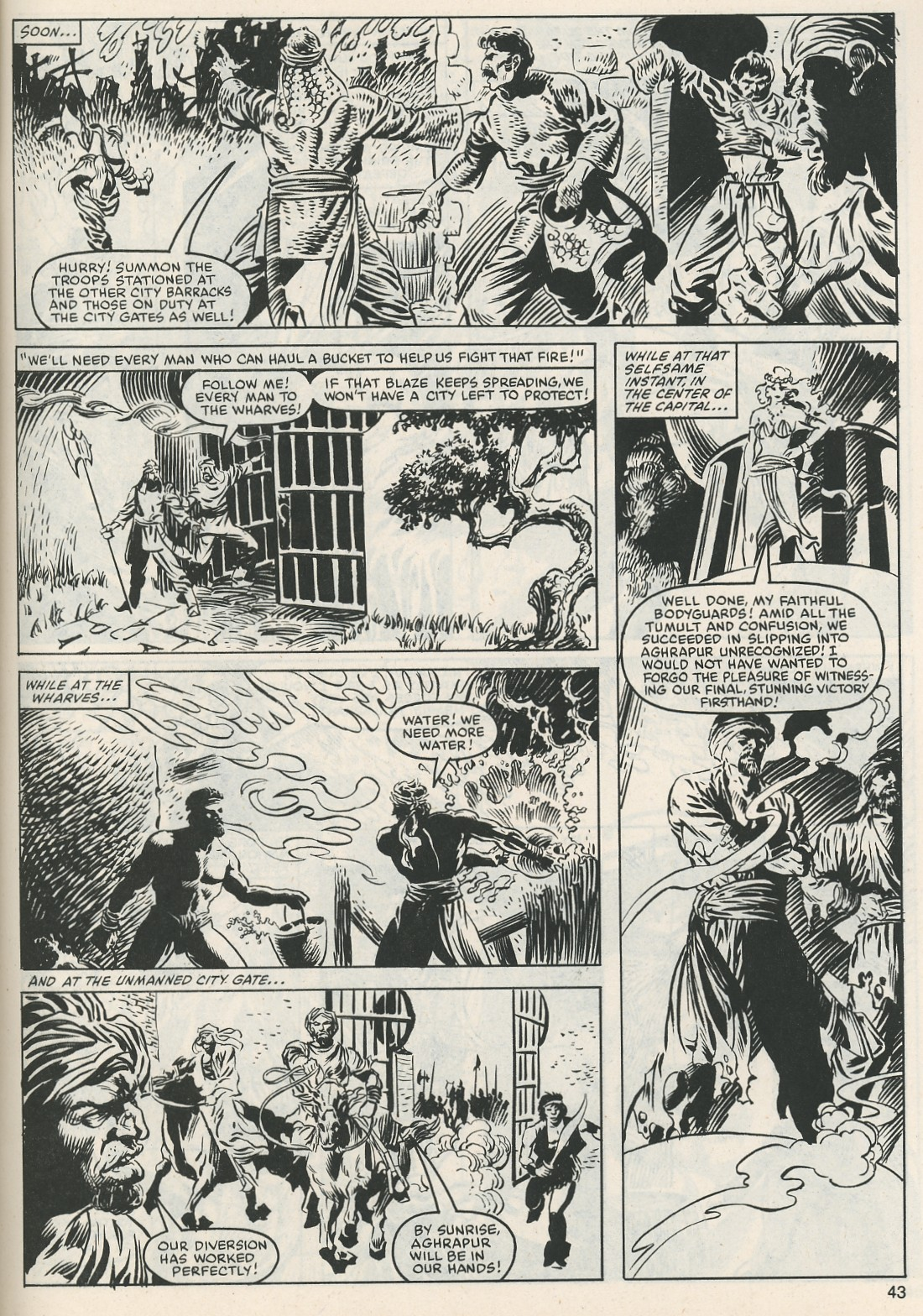 The Savage Sword Of Conan Issue #112 #113 - English 44