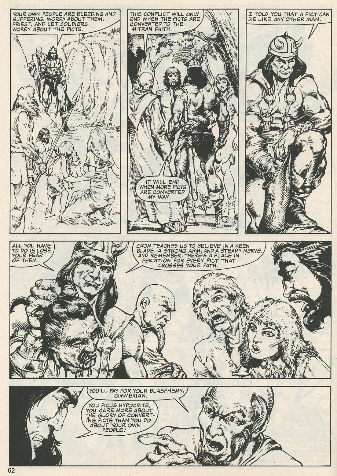 The Savage Sword Of Conan Issue #112 #113 - English 64