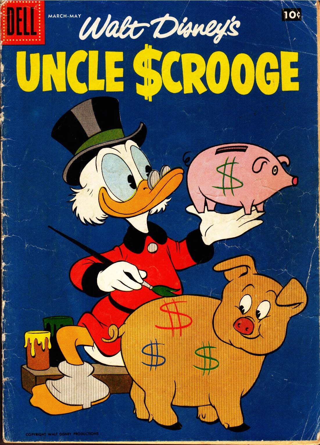 Uncle Scrooge (1953) Issue #21 #21 - English 1