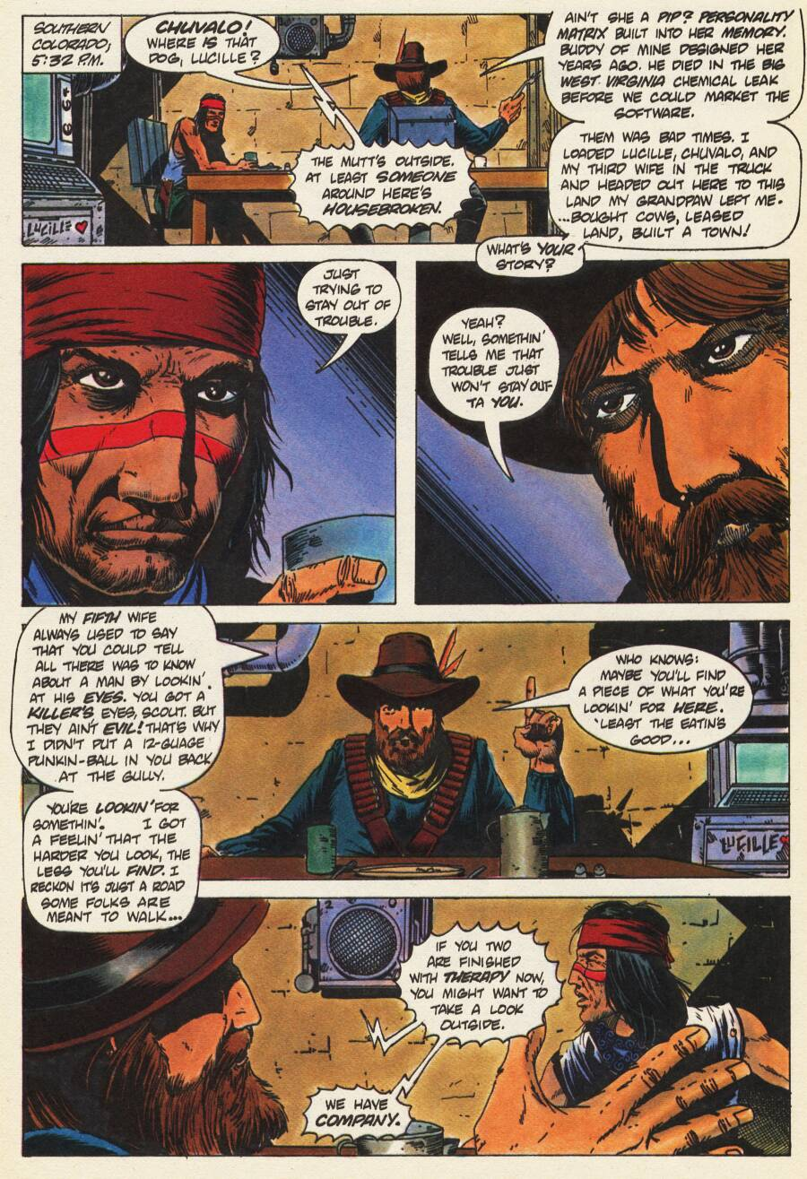 Read online Scout comic -  Issue #9 - 15