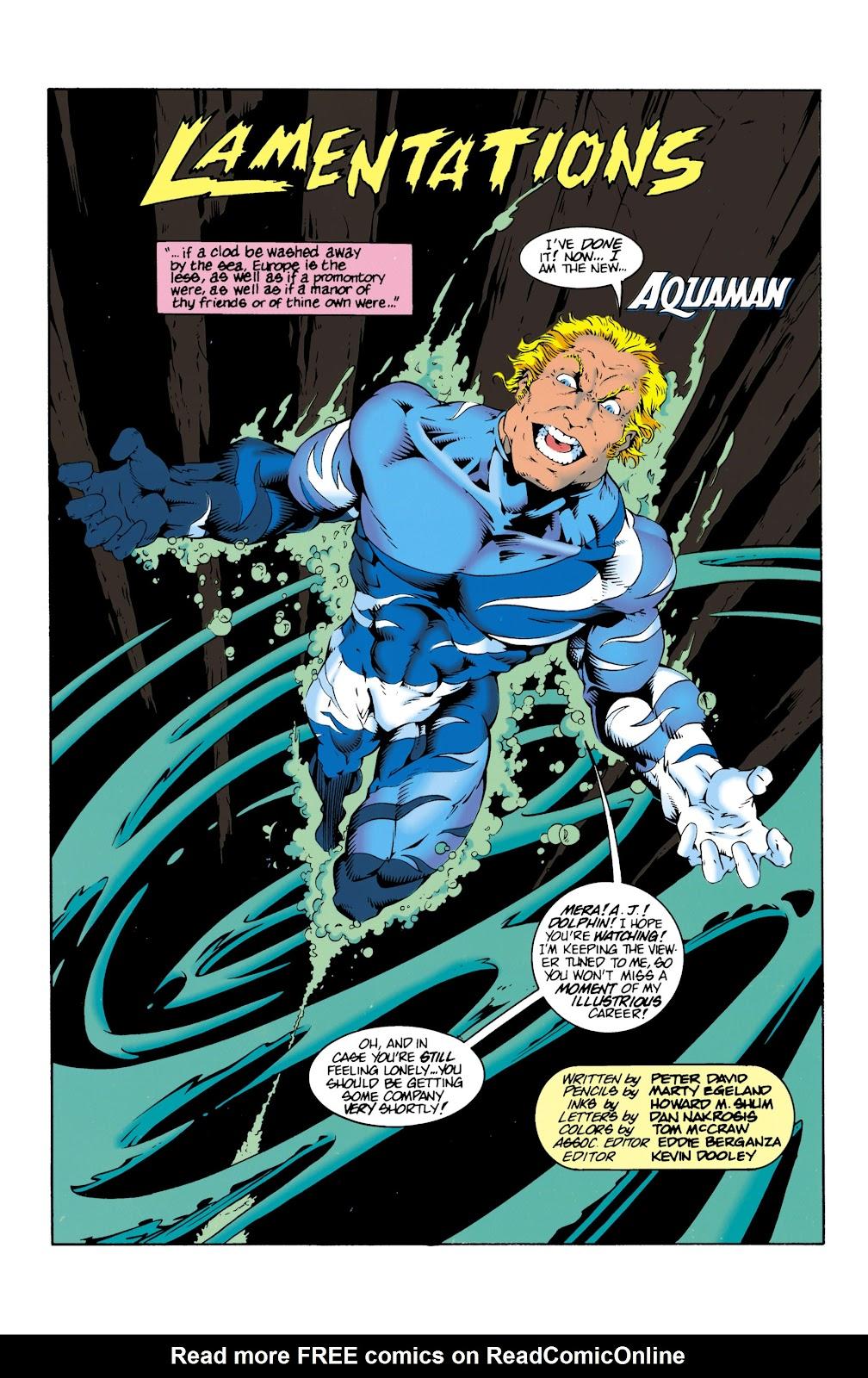 Aquaman (1994) Issue #14 #20 - English 3